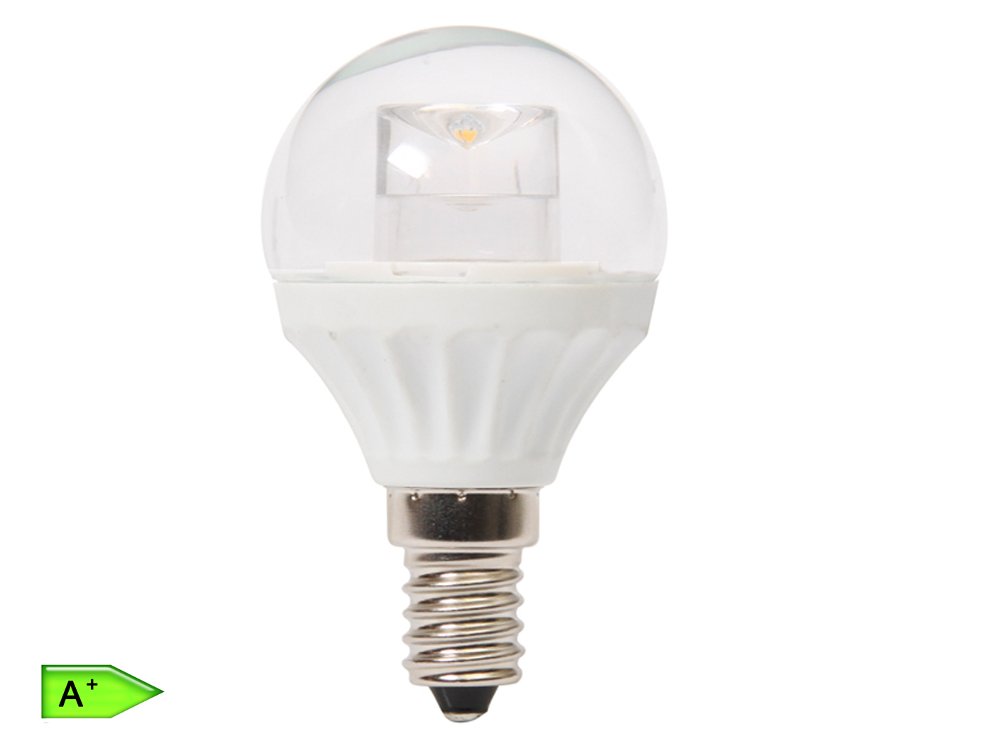 Luminea dimmbare smd led lampe e leds weiß lm er set