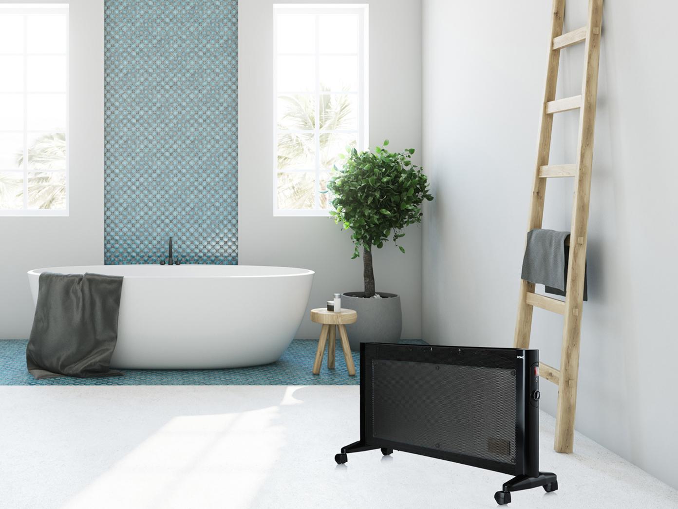 MICA Elektro Badezimmerheizung Stand + Wandheizung Schnellheizer Badezimmer  IP24