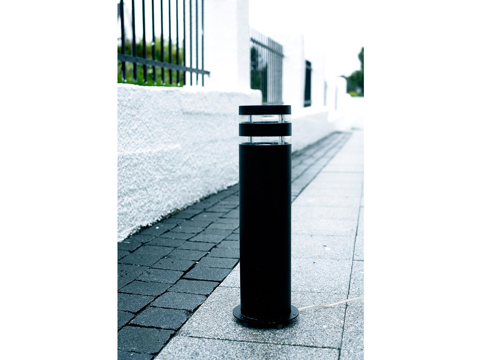 LED Wegeleuchte     Sockelleuchte Alugus anthrazit H. 40cm IP44 Außenbeleuchtung c1b1d1