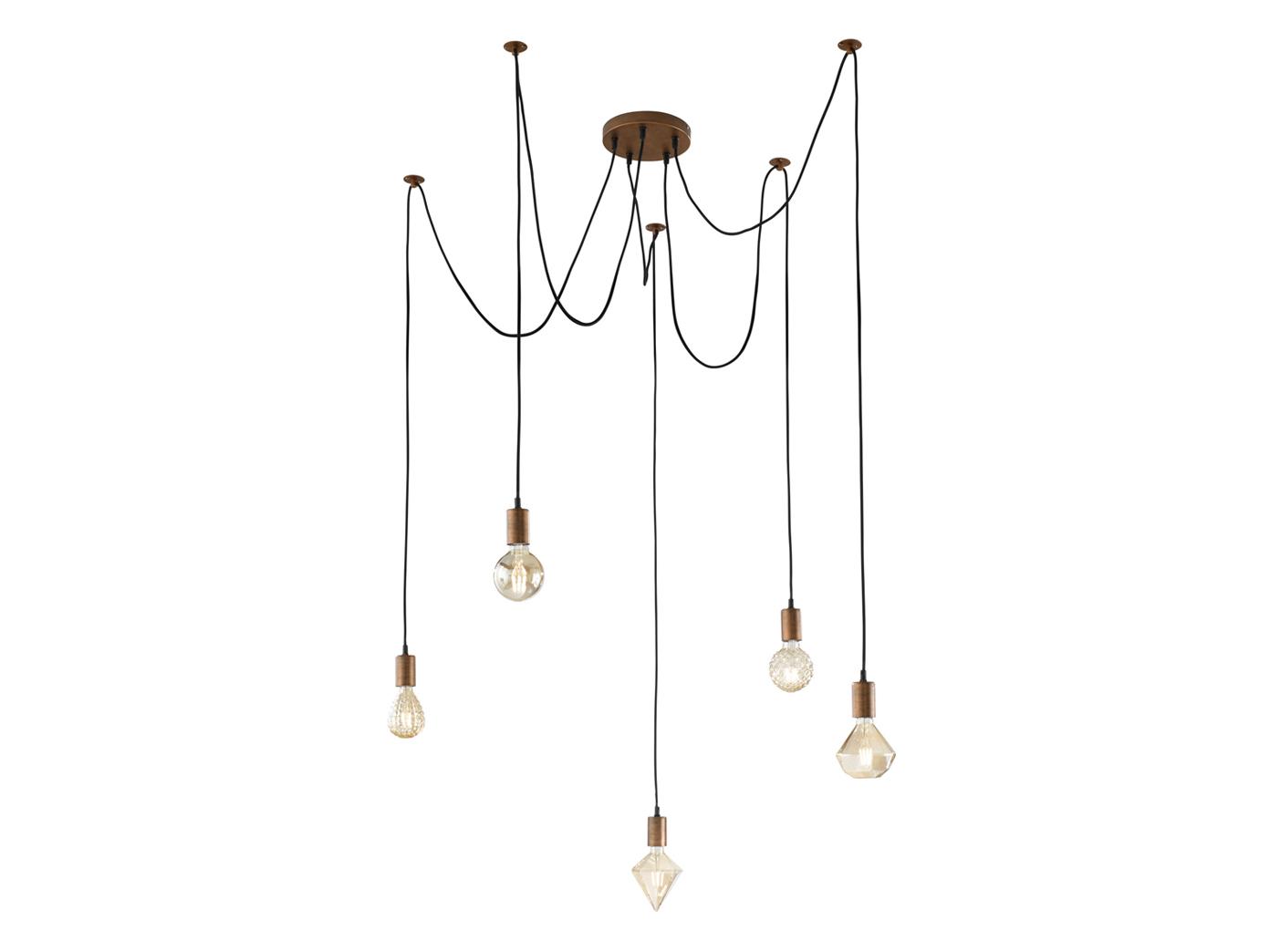 Minimal Affenschaukel Led Spinnenlampe Mit Mehreren Gluhbirnen Hangend An Schnur Kaufen Bei Setpoint Deutschland Gmbh