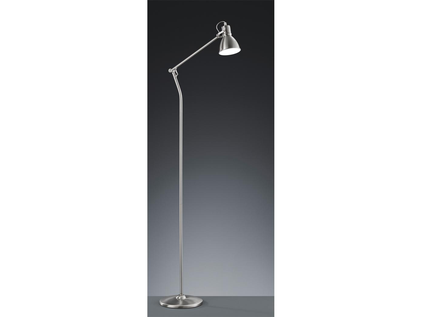140cm Stehlampe schwenkbar Trio-Leuchten Altmessing klassisch