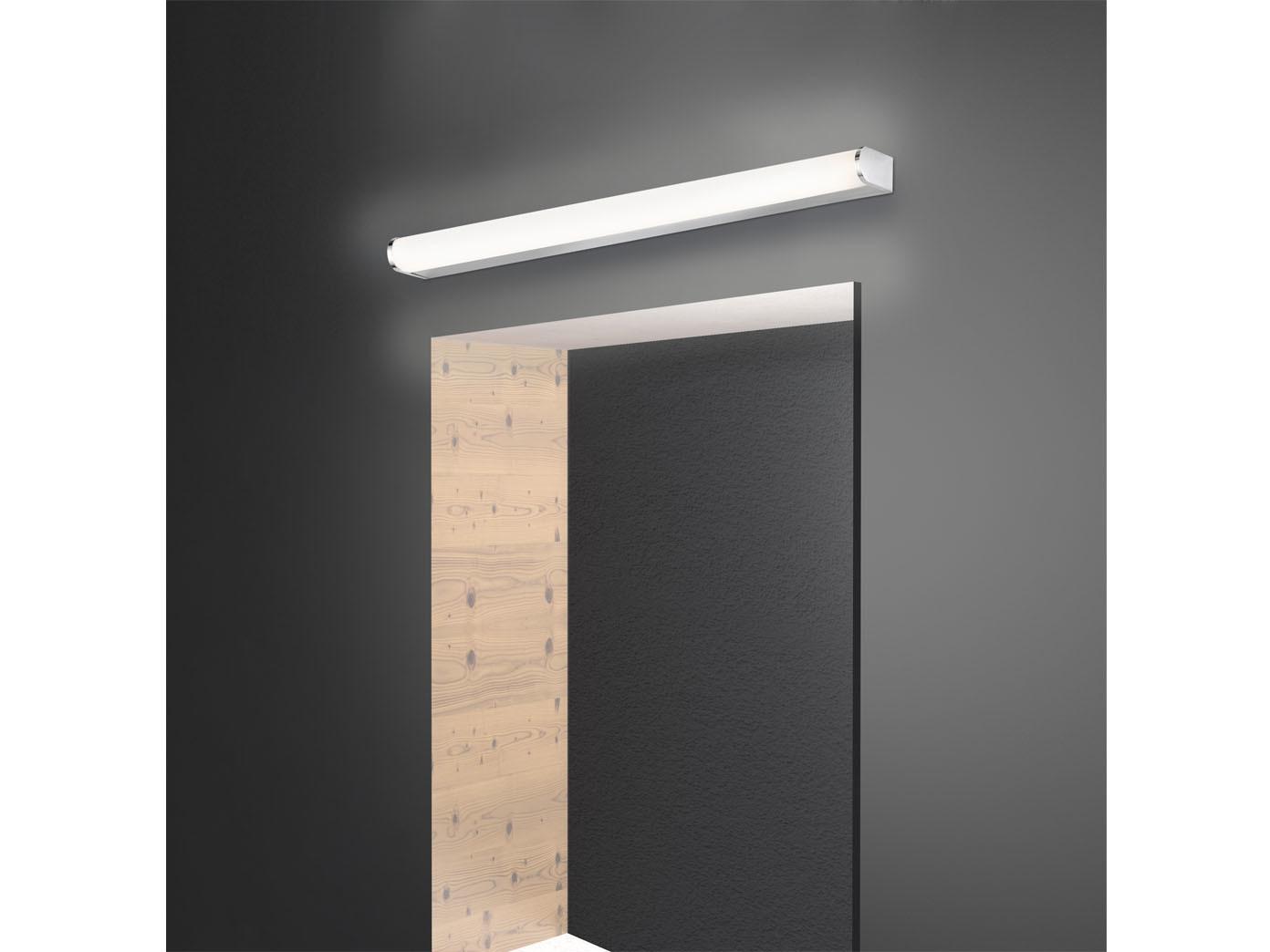 LED Wandlampe 19cm fürs Badezimmer - Spiegelleuchte & Badlampe über  Badspiegel