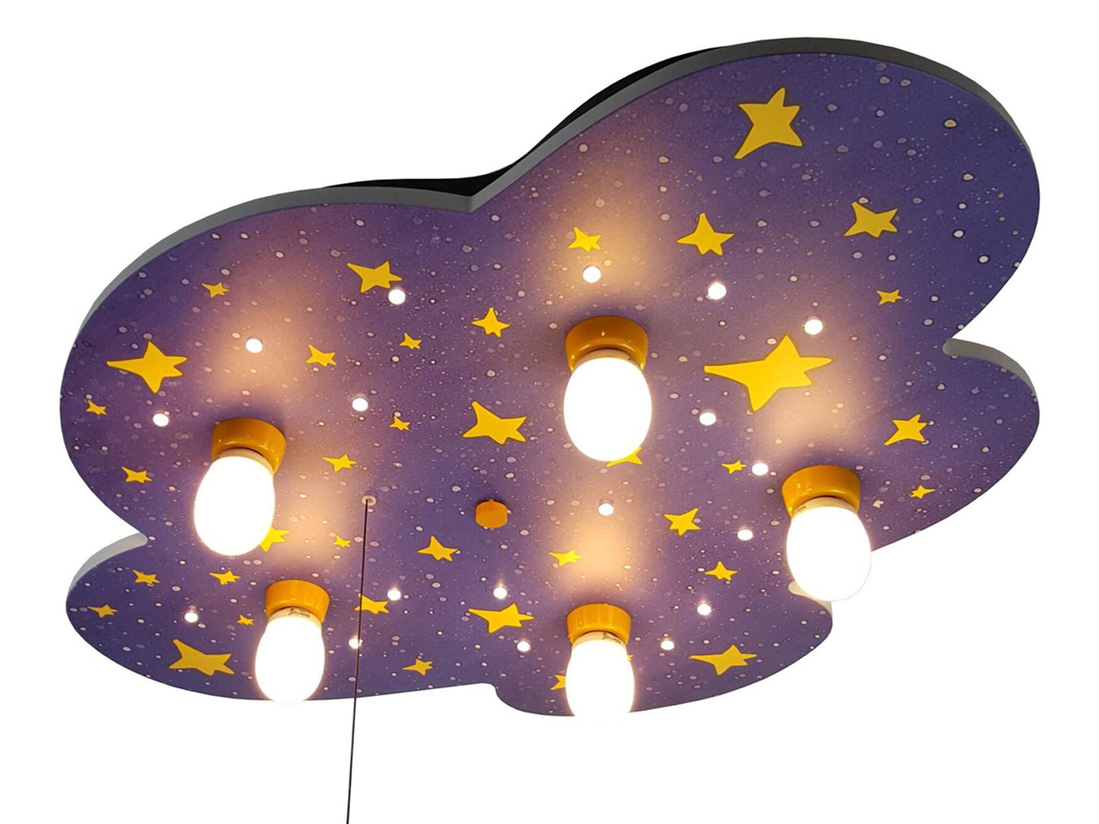 Deckenlampe f r kinderzimmer nachthimmel zugschalter f r for Kinderzimmer deckenlampe