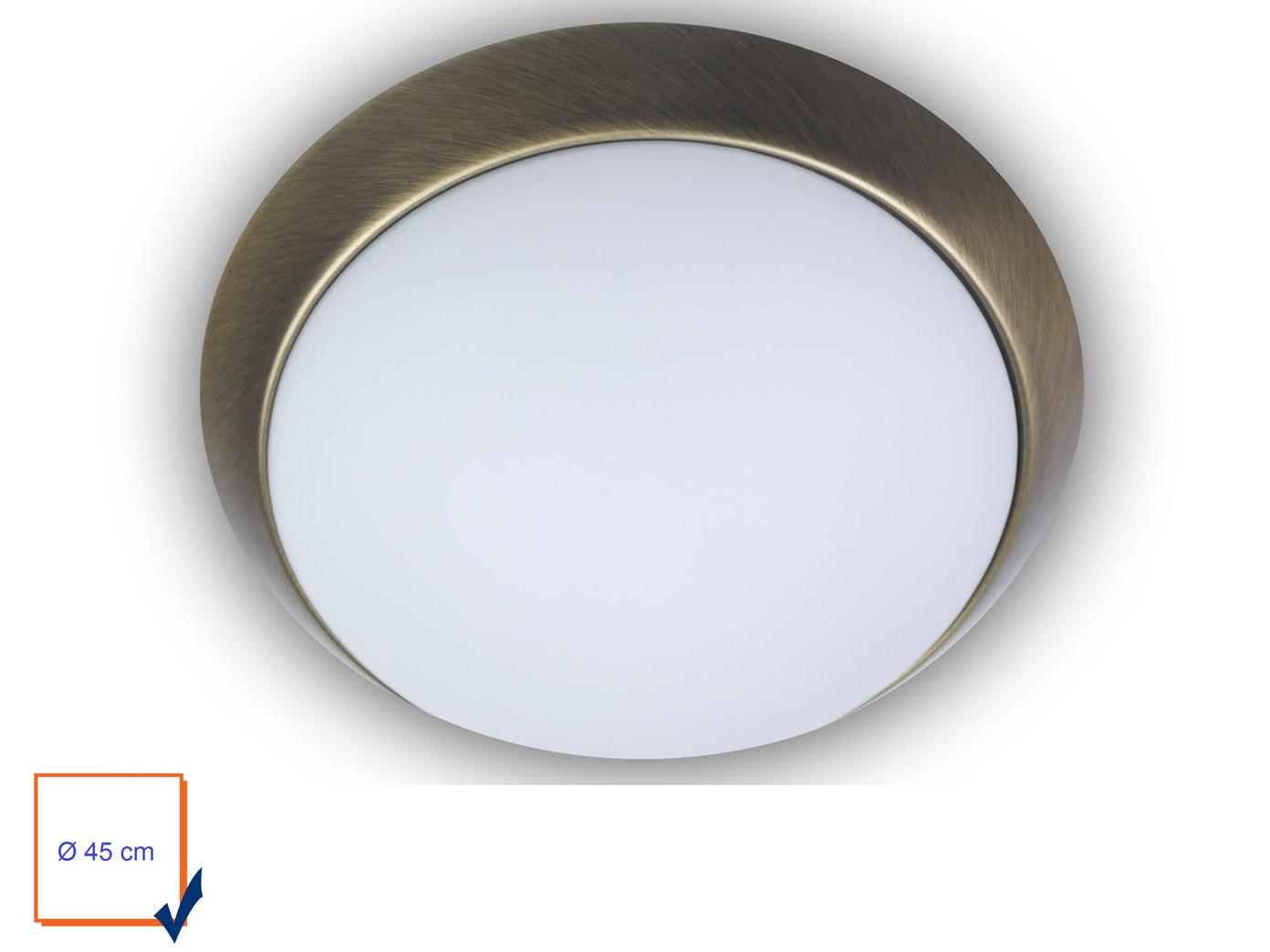 Design Led Kuchenlampe Landhausleuchte Leuchte Rund O45cm Dekorring