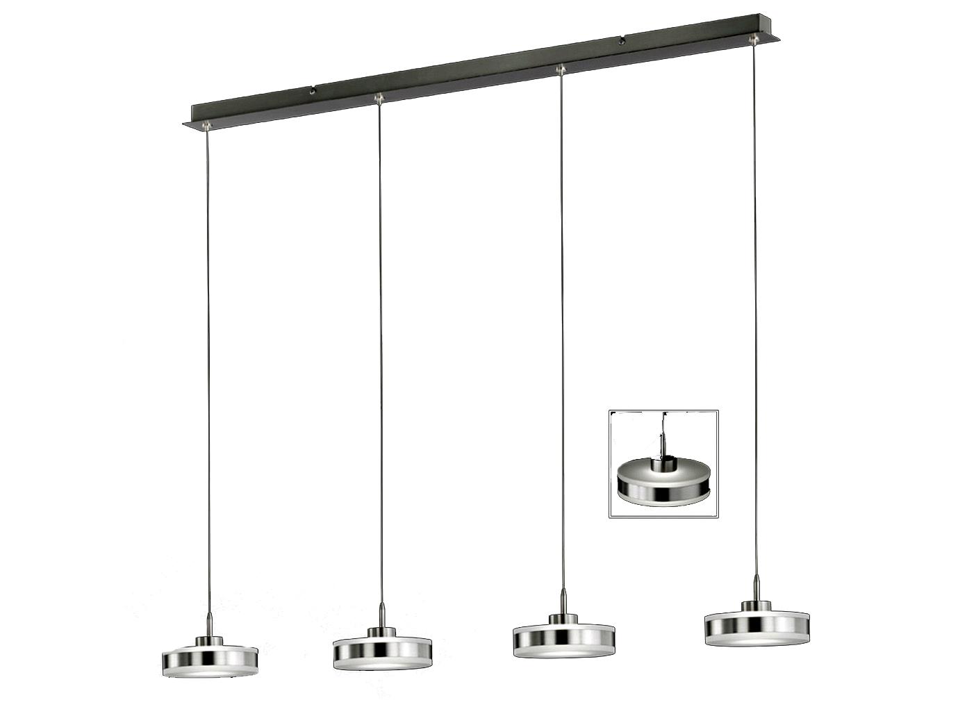 led pendelleuchte dimmbar h henverstellbar l nge 94 cm. Black Bedroom Furniture Sets. Home Design Ideas
