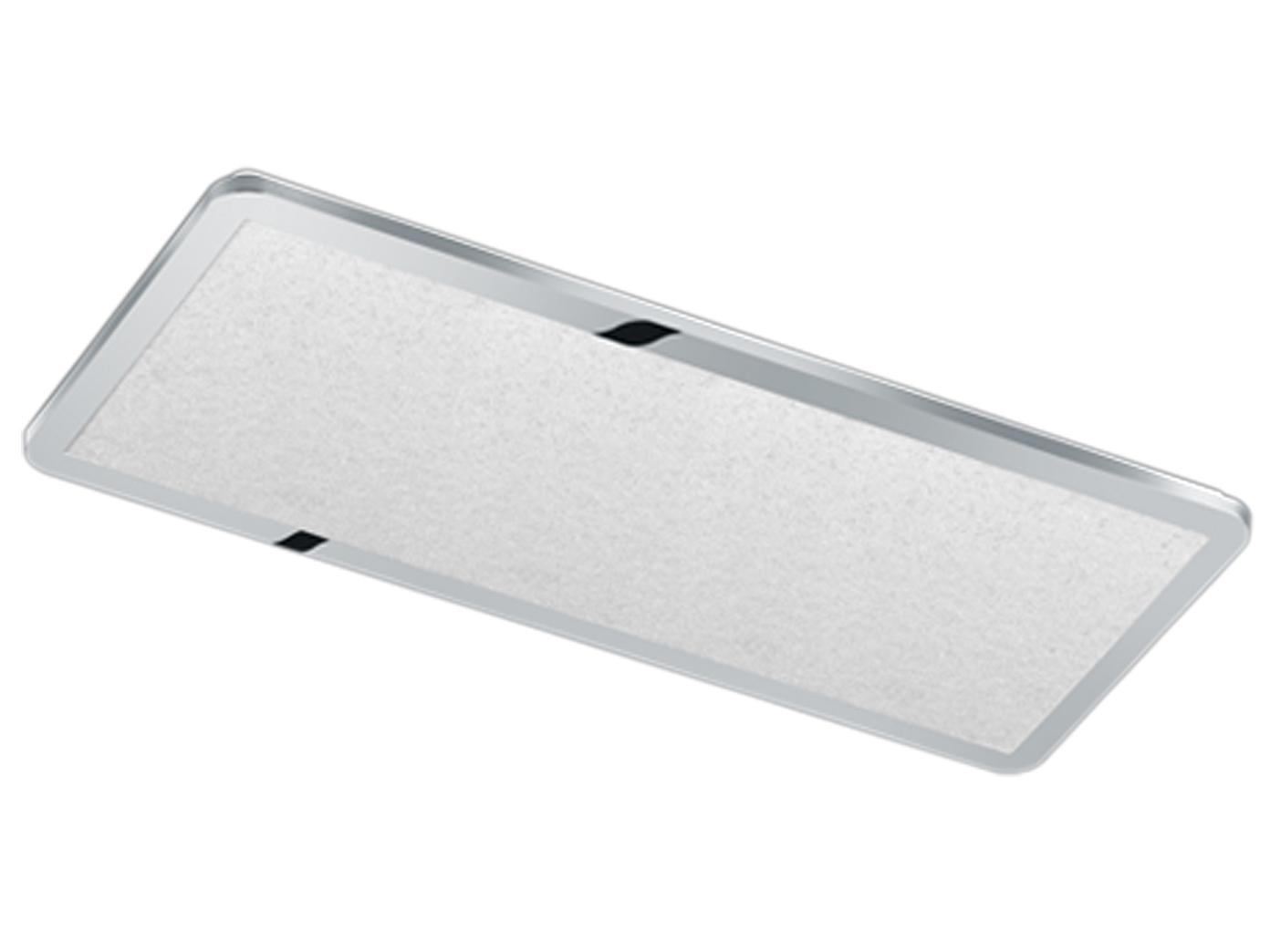 Große XXL LED Badezimmerleuchte IP44 in chromfarben mit Switch ...