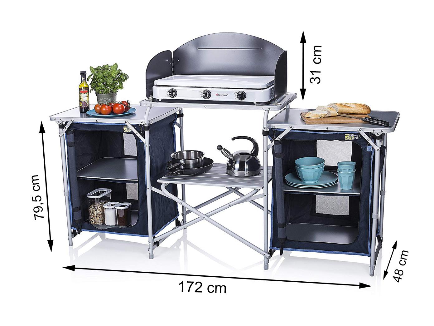 Outdoor Küche Klappbar : Xxl campingküche faltbar outdoor kochen küchenschrank küchenblock