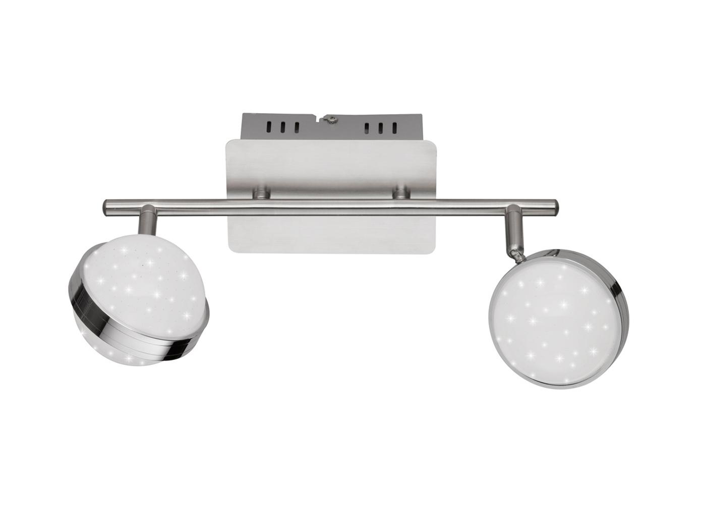 2-flammiger LED Deckenbalken MONDE, Deckenleuchten Deckenlampen LED Balken Spots