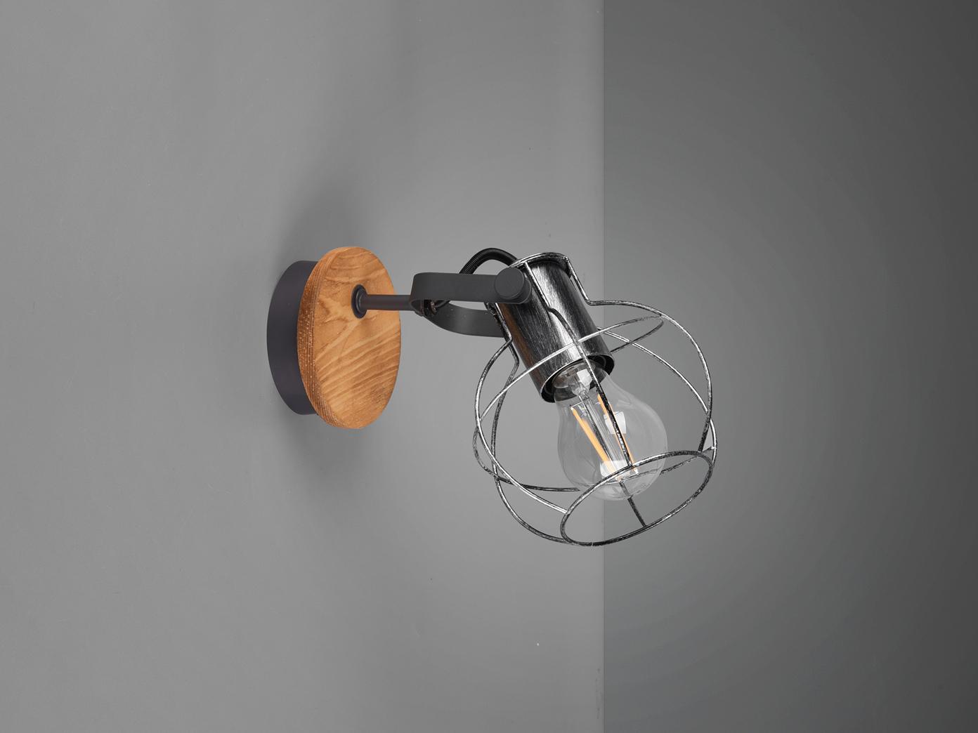 Schwenkbare Vintage Wandlampen im Industriedesign für Flur Küche  Arbeitsplatte - yatego.com