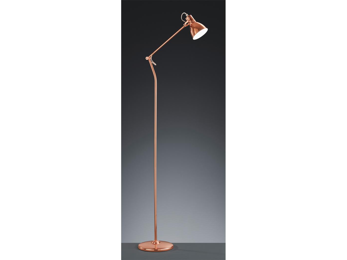 Trio Leuchten Klassisch 140cm Altmessing Stehlampe Schwenkbar
