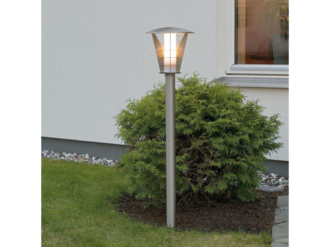 Außenleuchte Haus Garten IP44 2er Set Konstsmide Wandleuchte LIVORNO Edelstahl