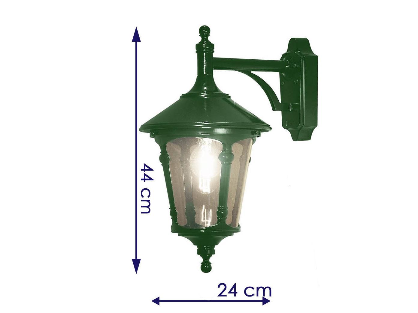 KonstSmide Außenleuchte 7229-600 Wandleuchte Außenlampe Grün