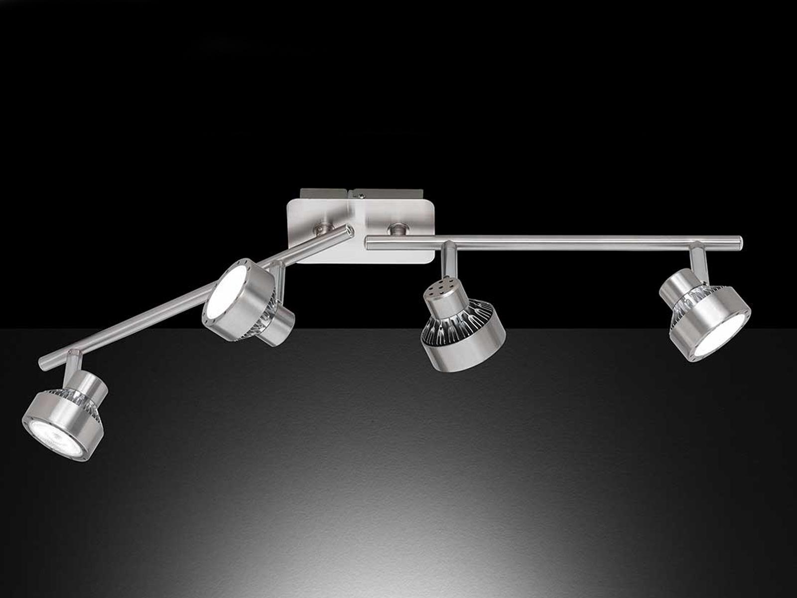 6-flammige LED Deckenlampe LOCAL dimmbar Deckenleuchte Spotleiste Deckenbalken