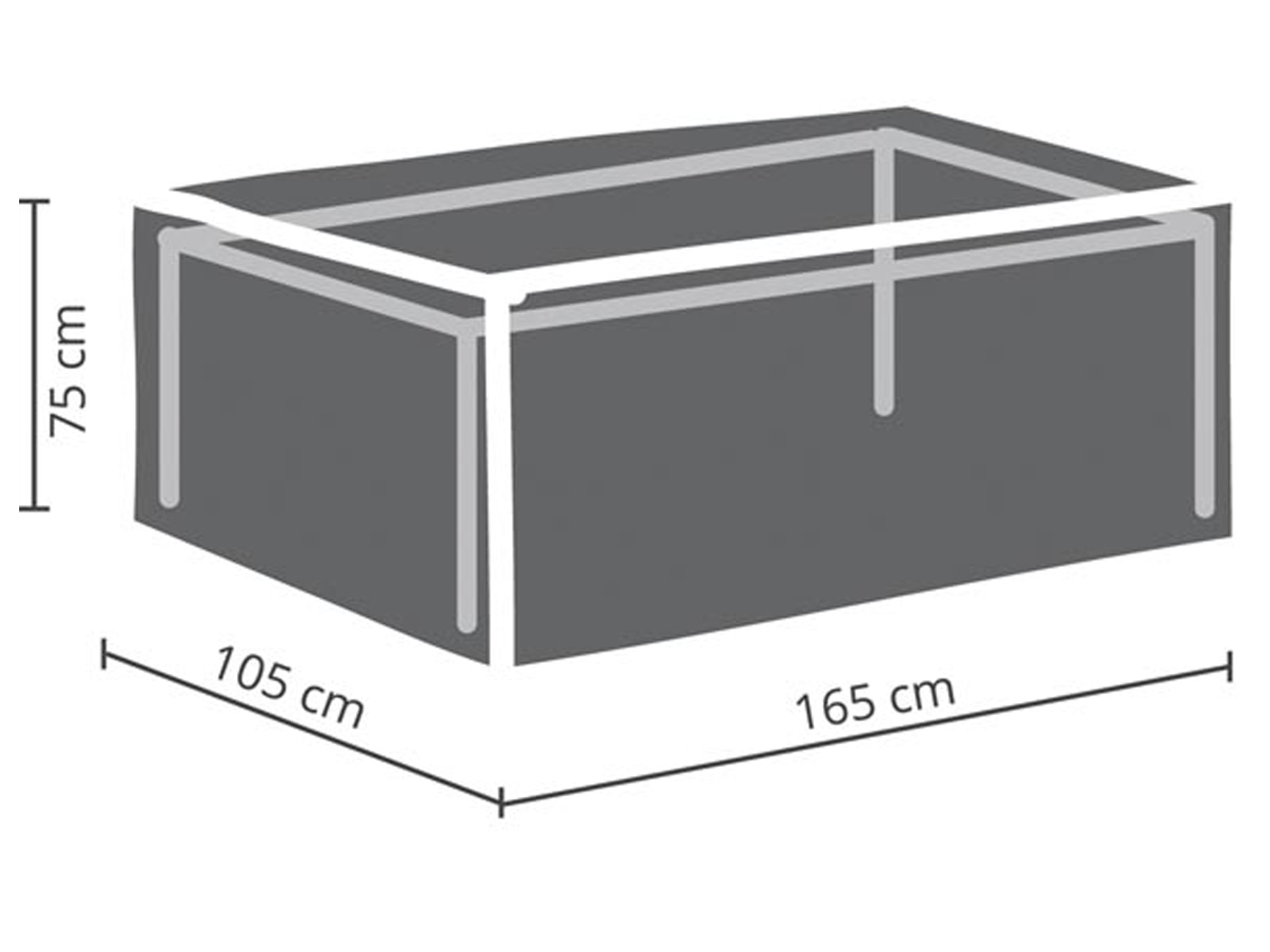 Gartenmobel Schutzhulle Abdeckung Fur Gartentisch Max 160cm
