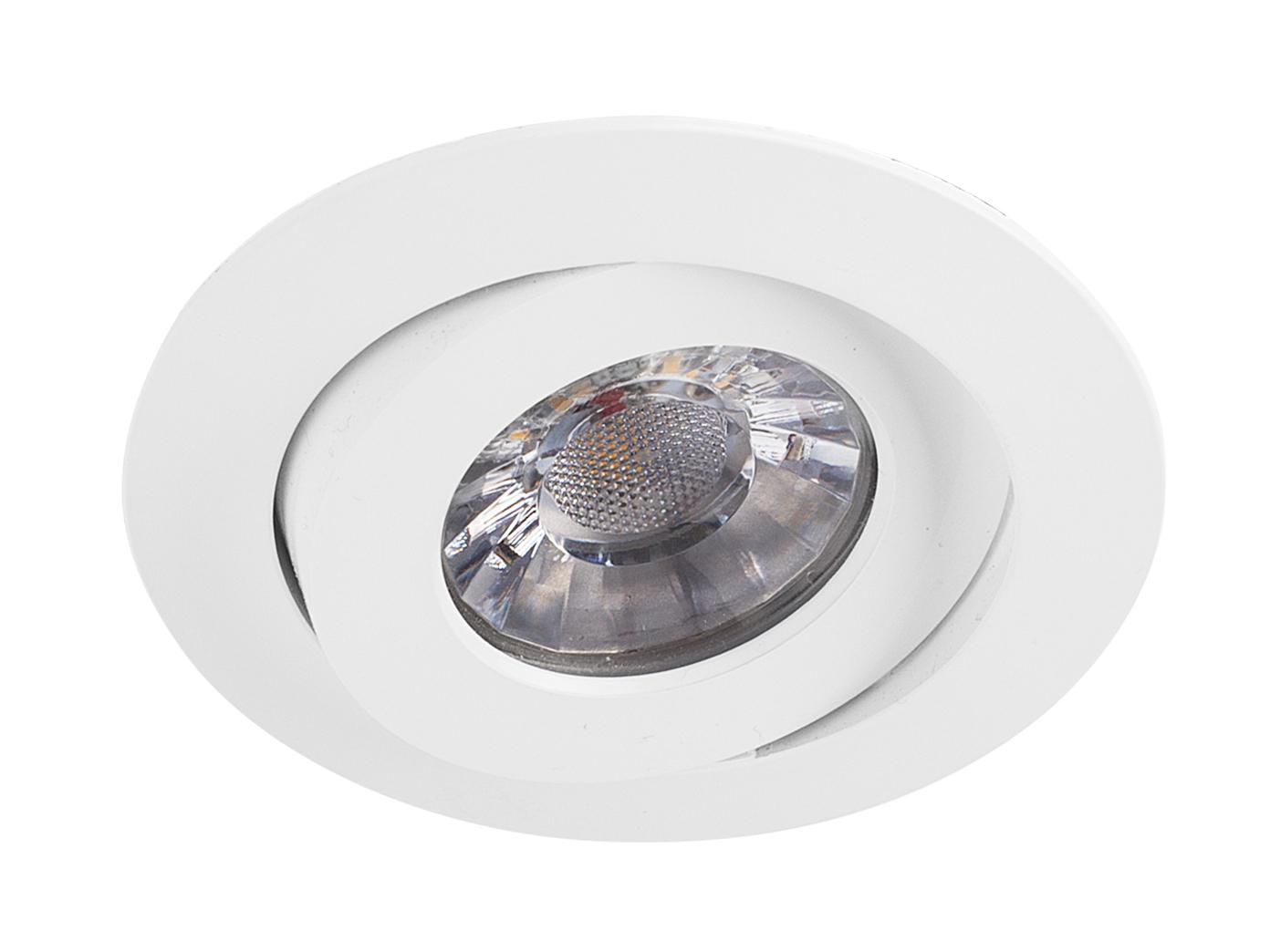 dimmbar Deckenstrahler Einbauleuchte 4 LED Einbaustrahler 4,5W Spot schwenkbar