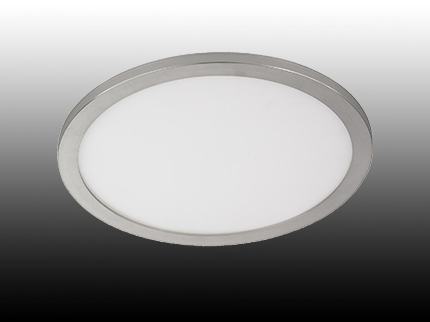 Flache LED Innenleuchte für das Badezimmer, große Deckenlampe, Ø 60cm,  dimmbar - yatego.com