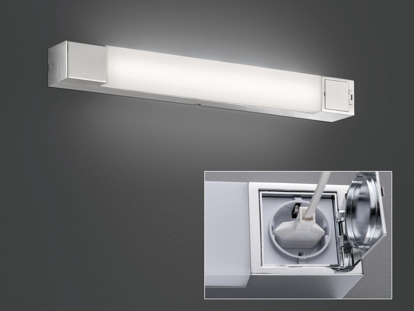 Badezimmerlampen Mit Steckdose