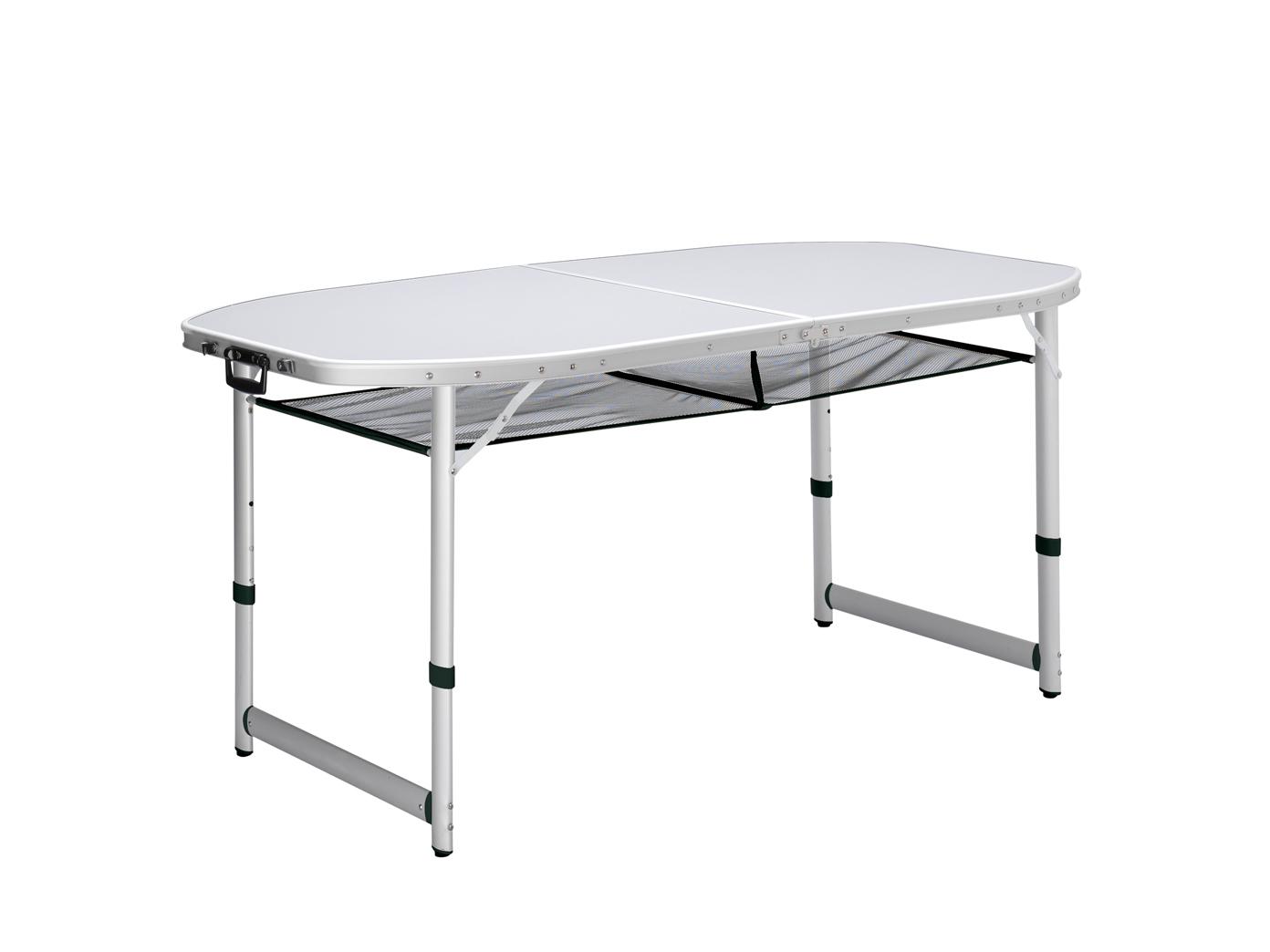 Klapptisch Campingtisch Gartentisch Gartentisch Gartentisch Falttisch mit Aufbewahrungsnetz wetterfest 1ebfe1