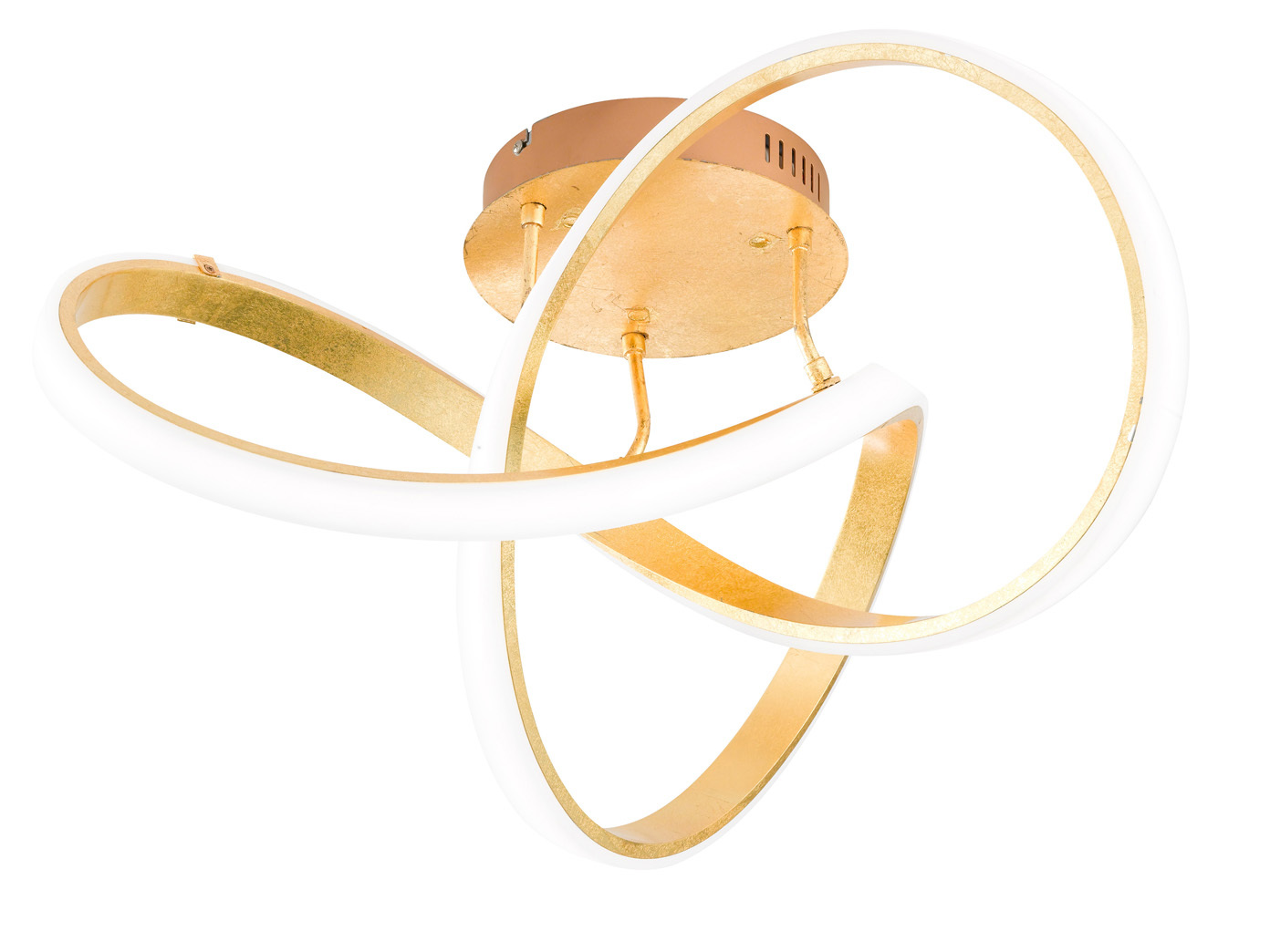 Ausgefallene Deckenleuchte LED dimmbar Gold Designer Deckenleuchten ...