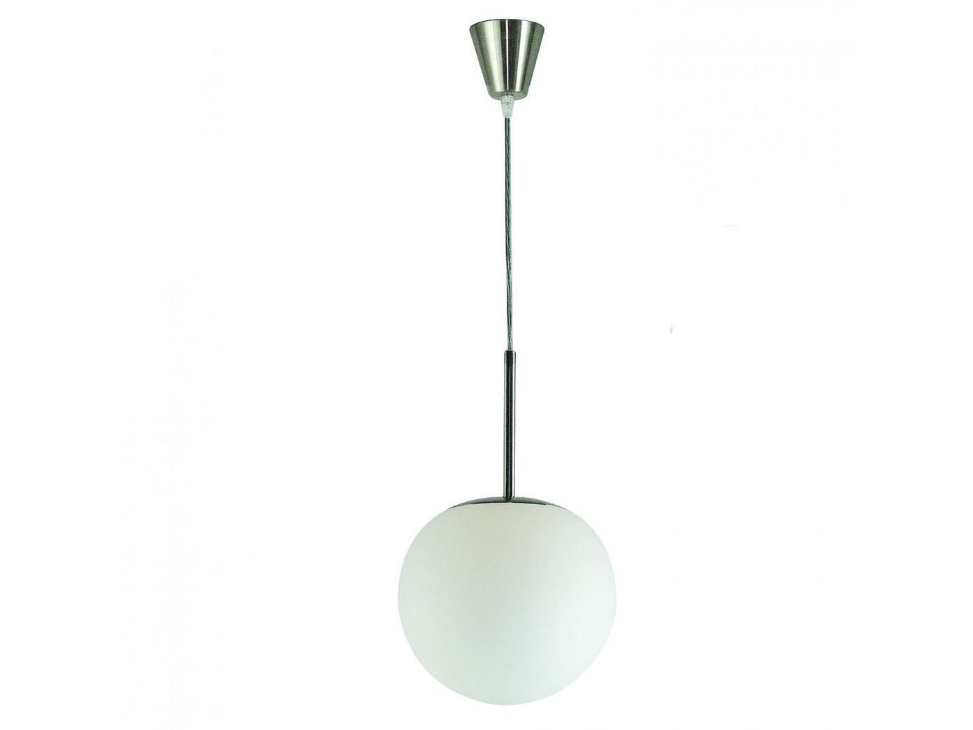 pendelleuchte kugel glas 20cm mit dimmbarem e27 led. Black Bedroom Furniture Sets. Home Design Ideas