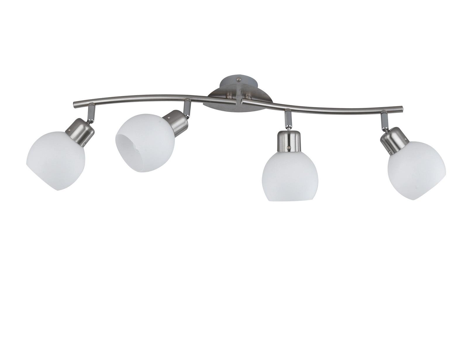 ca inkl 2 x 4 W LEDs Trio LED-Deckenstrahler 30 cm Rostfarben