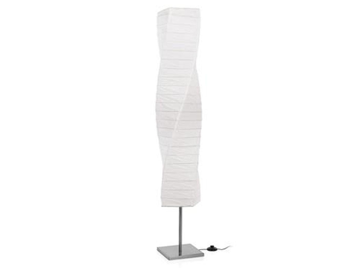 Moderne Stehlampe Mit Lampenschirm Aus Papier Stehleuchte Furs
