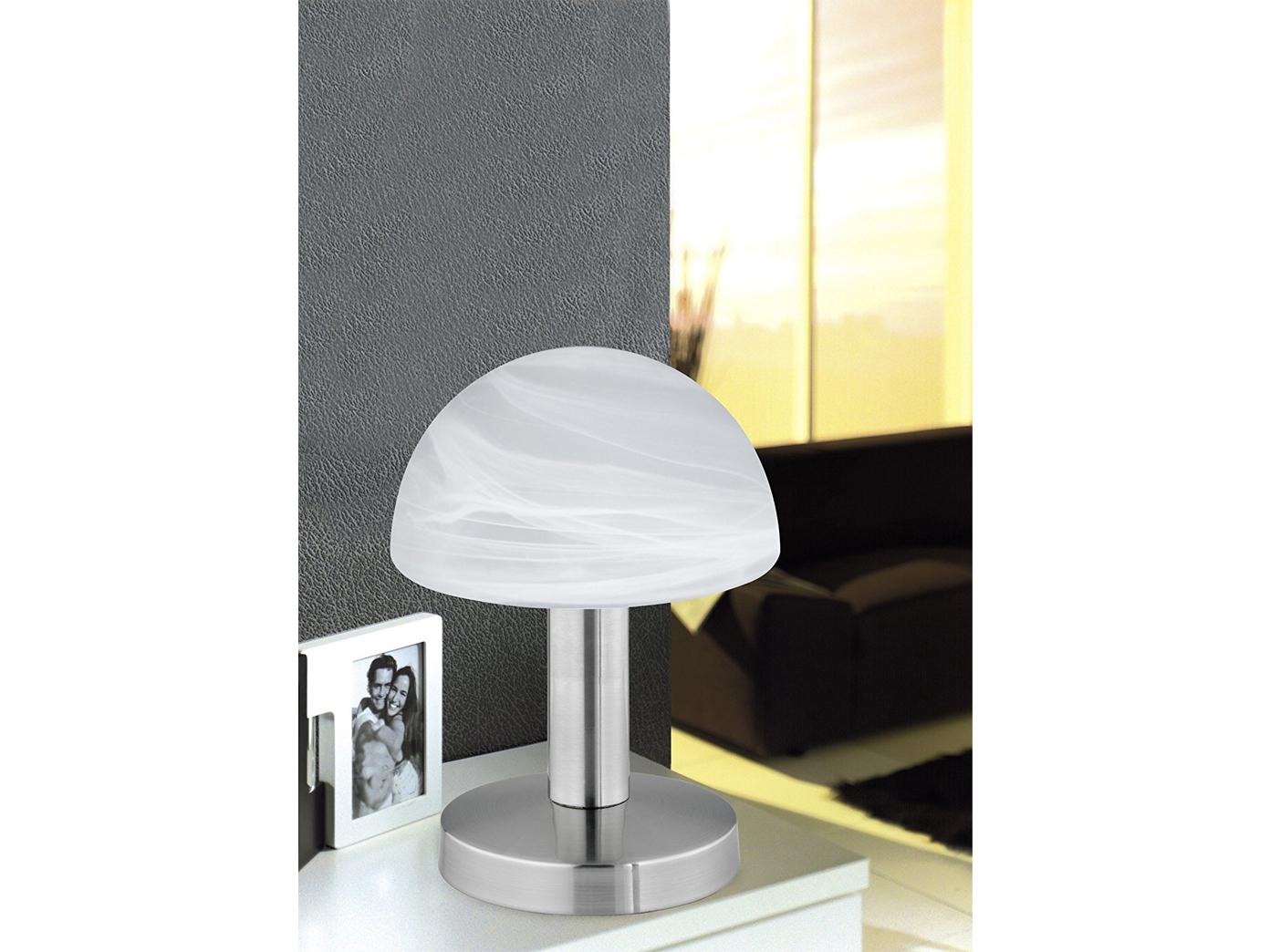 Touch Nachttischlampen Mit Glasschirm Weiss Dimmbare Led Lampen Furs Schlafzimmer Kaufen Bei Setpoint Deutschland Gmbh