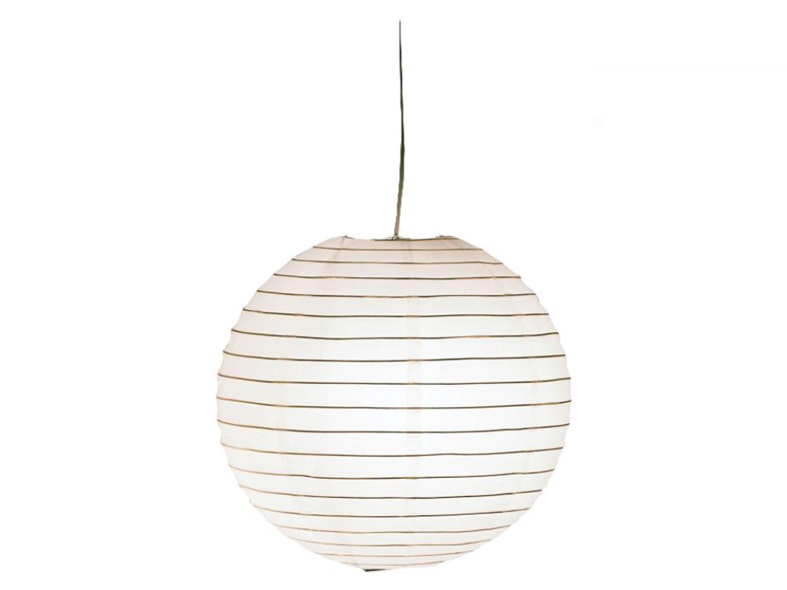 Trio Lampenschirm Design Japan-Kugel Papier grün Ø 40cm Lampion Pendelleuchte