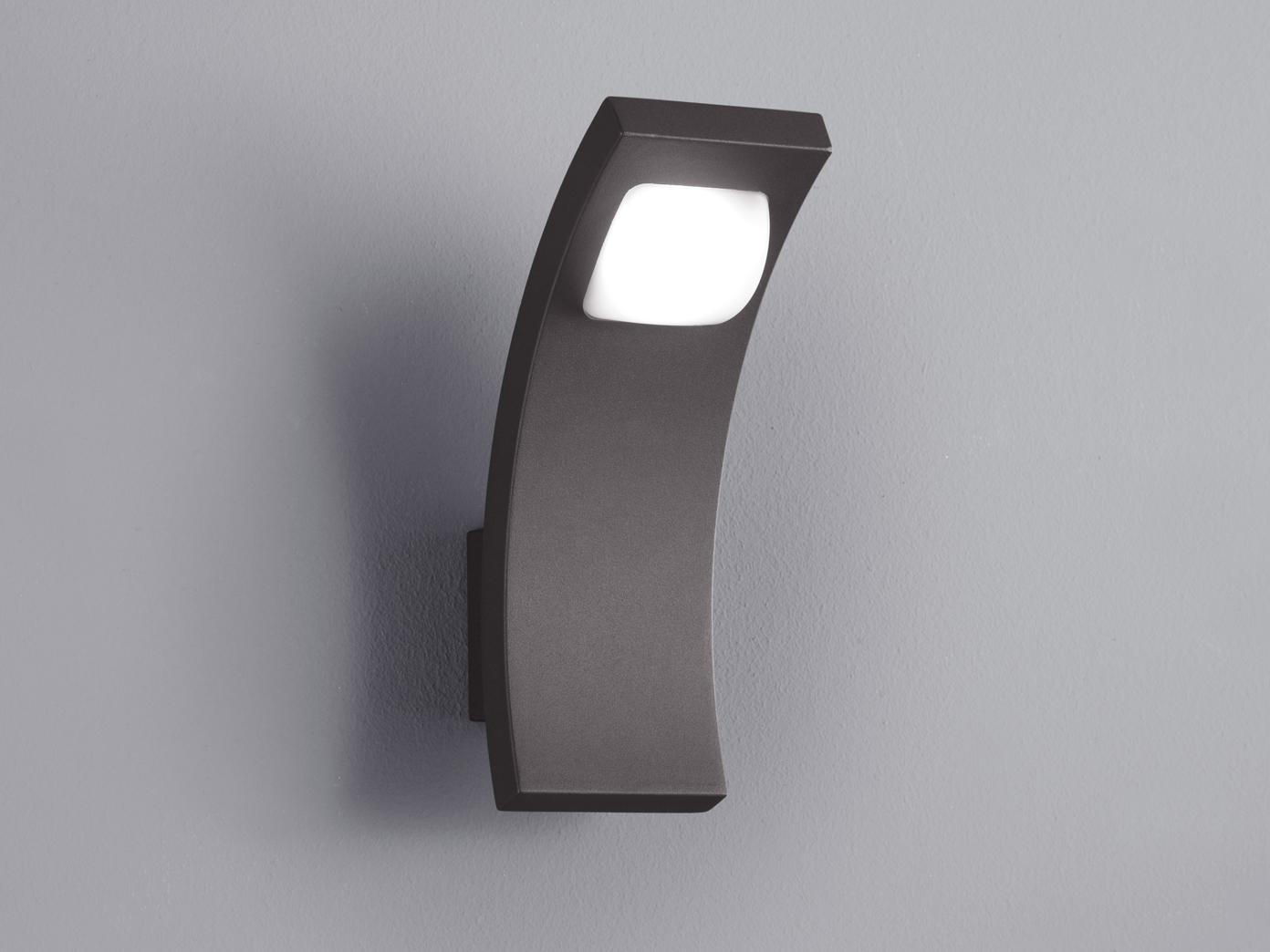 au en wandleuchte seine anthrazit inkl 6 watt led 360. Black Bedroom Furniture Sets. Home Design Ideas