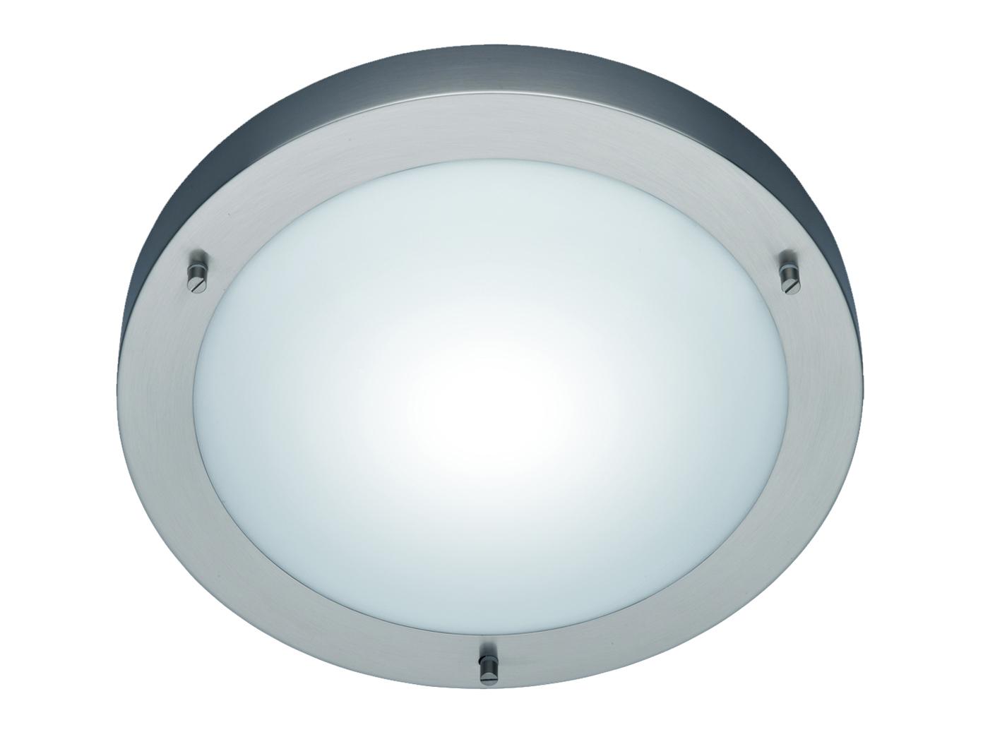TRIO Deckenleuchte // Deckenschale Opalglas//Nickel Ø 30cm 1 x E27