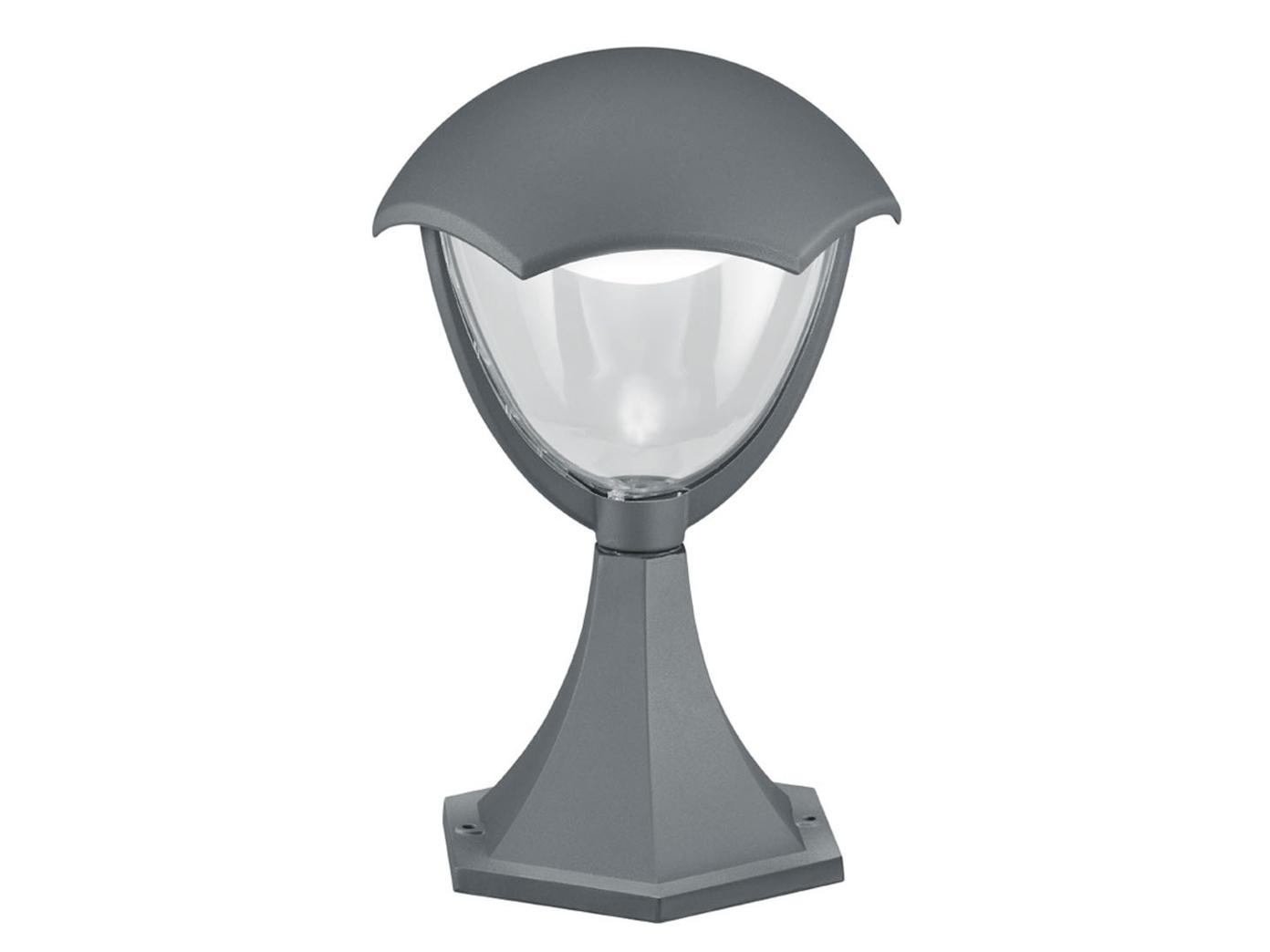 Trio LED LED LED Wegeleuchte Sockelleuchte GRACHT anthrazit, Außenlampe Gartenlaterne 3ad719