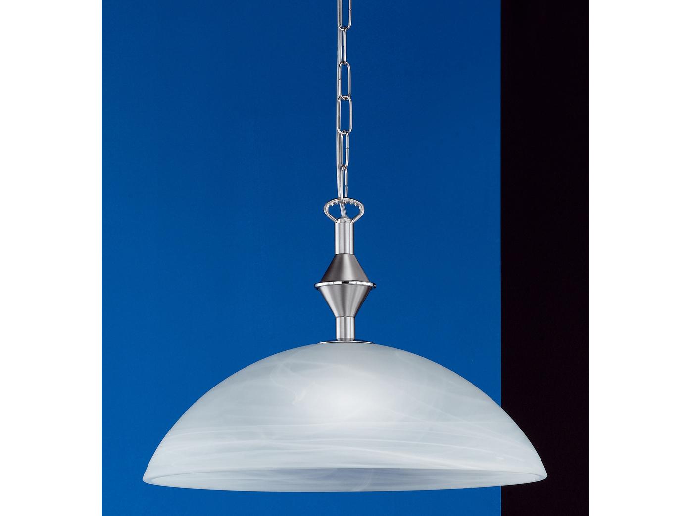 Tiffany Lampen Amsterdam : Pendelleuchte nickel matt chrom glas weiß honsel leuchten amsterdam