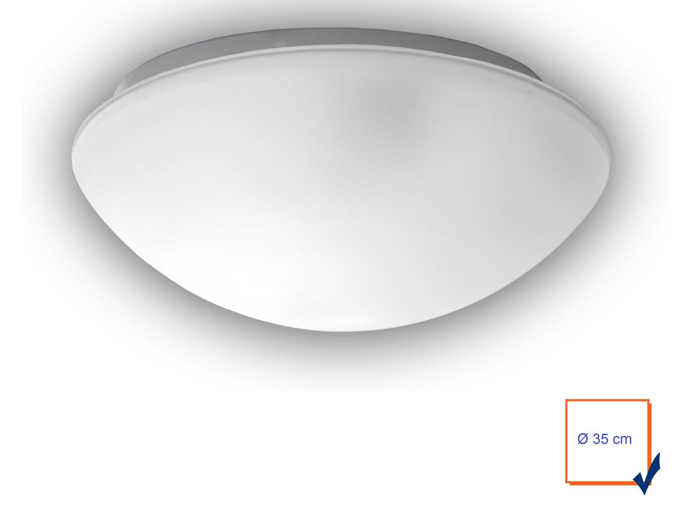 Led Deckenlampe Satiniert Flurlampe Dielen Lampe O35cm Led