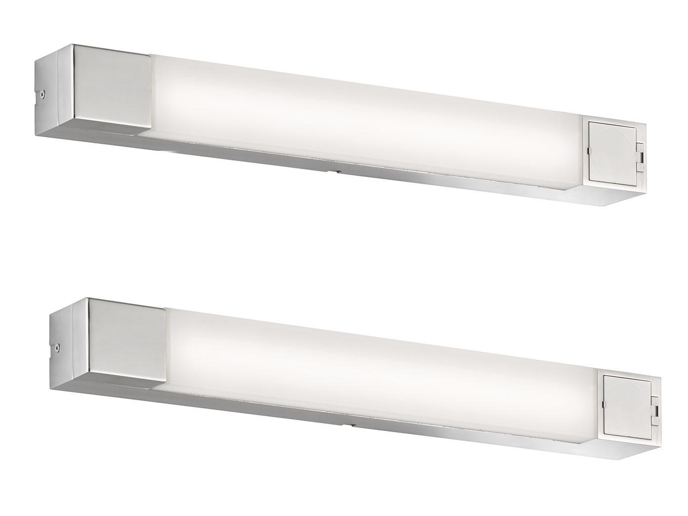 Led Badezimmer Wandlampenset Spiegelleuchten 60cm Mit Steckdose