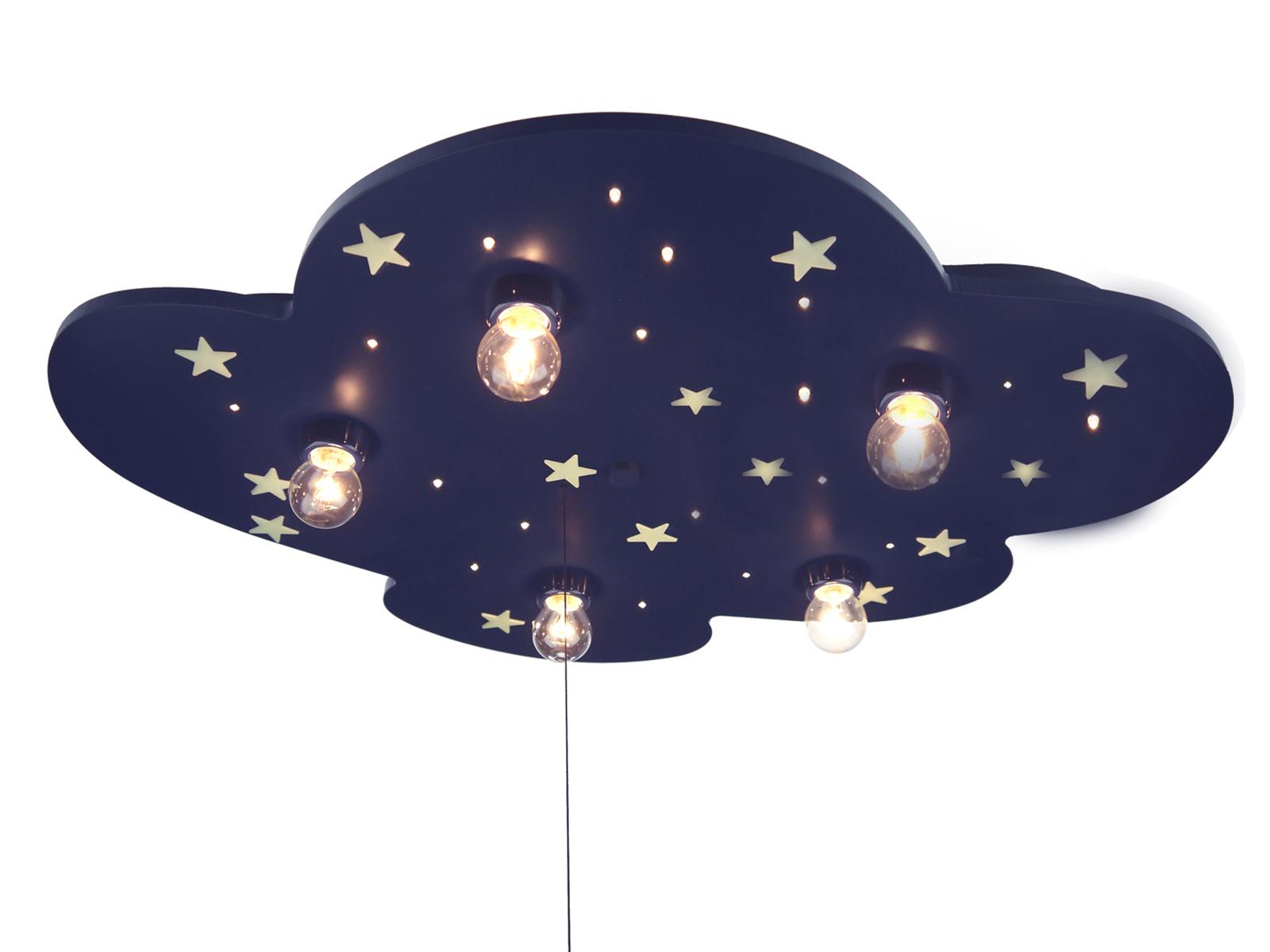 LED Deckenleuchte Kinderzimmer -ALEXA schalte Licht an- LED Sternenhimmel  *NEU*