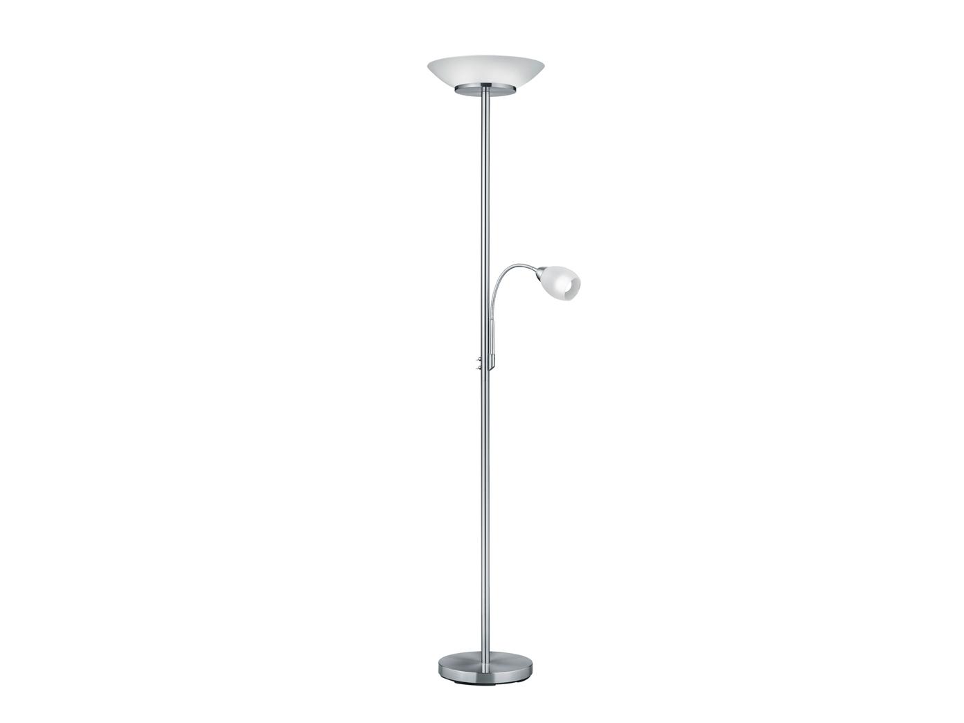 Stehlampe mit Deckenfluter + flex Lesearm getrennt ...