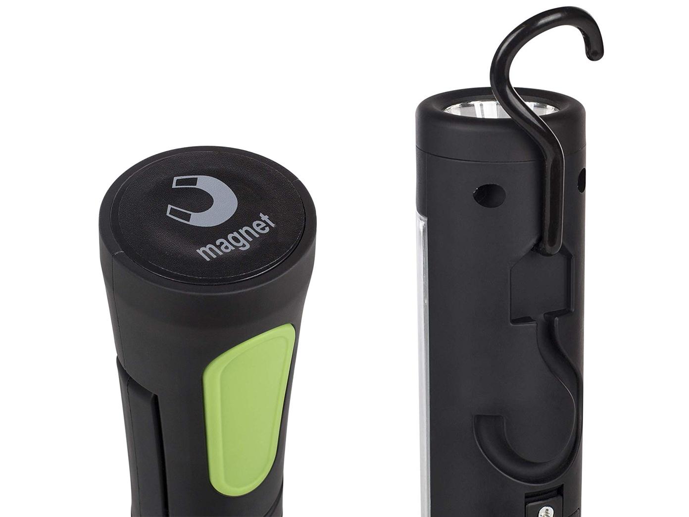 LED Multifunktionsarbeitsleuchten Taschenlampen mit Magnet Stablampen Werkstatt