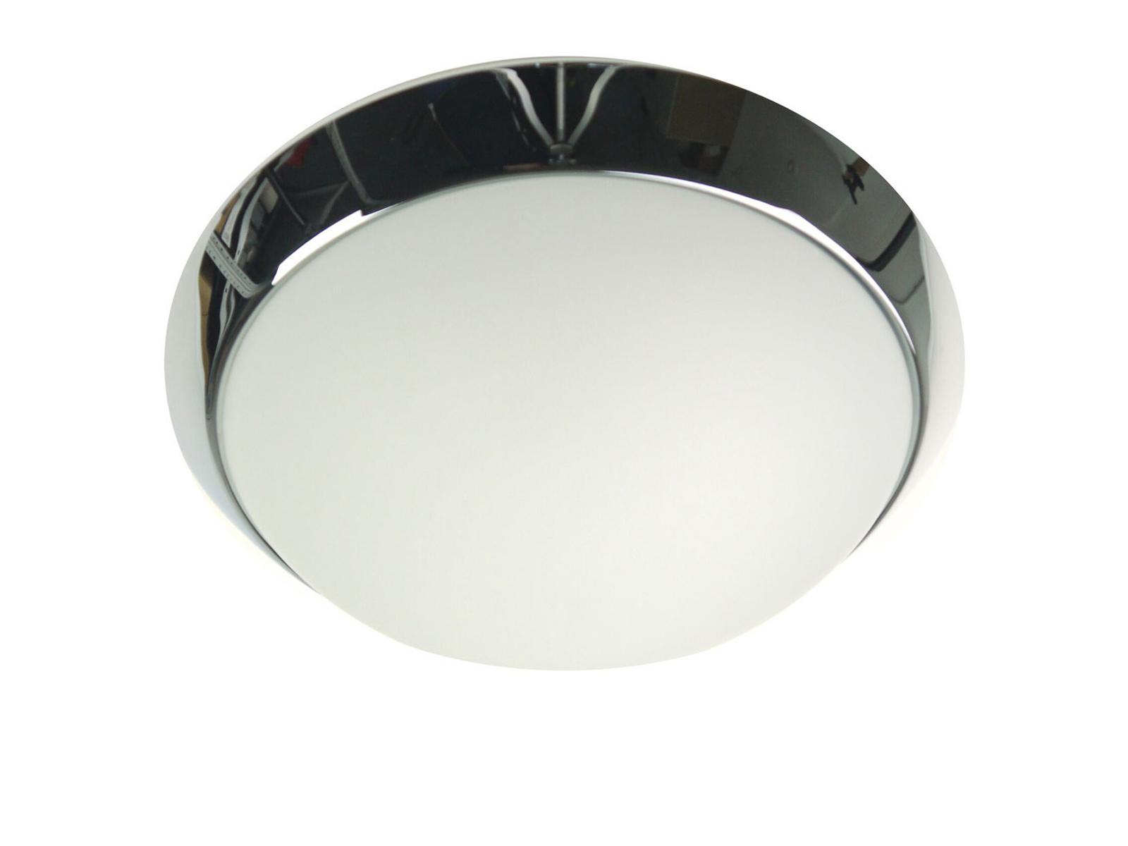LED Deckenleuchte Küche Flurlampe rund Ø 35cm, Büroleuchte Dielenbeleuchtung