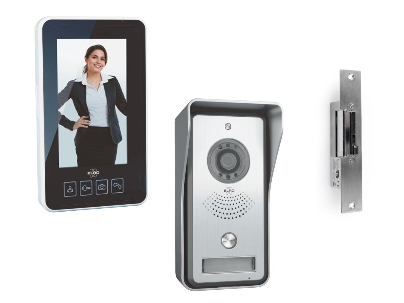 funk videotürsprechanlage tragbarer monitor & türöffner