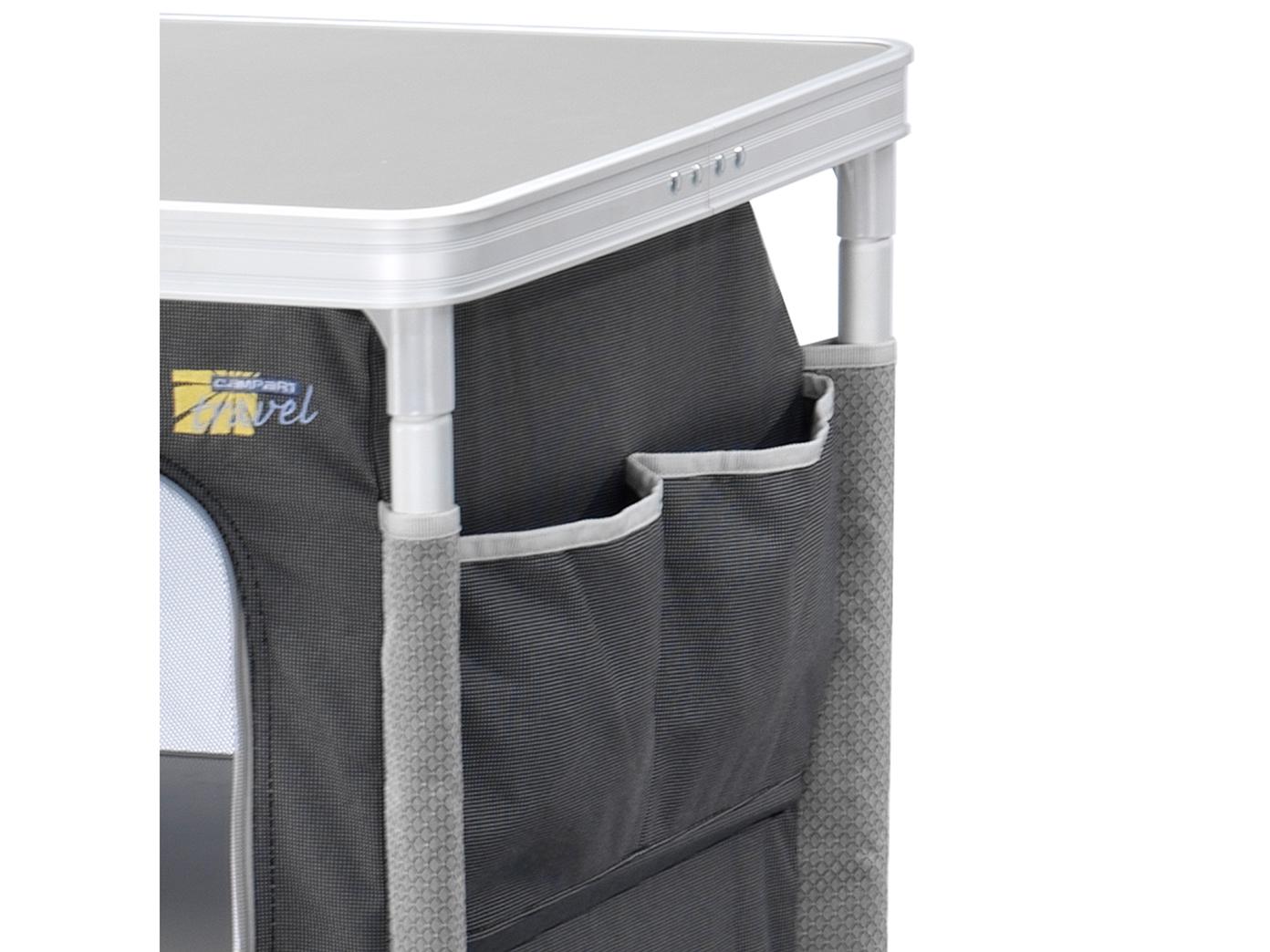 design campingschrank f r outdoor k che faltbar 3 f cher. Black Bedroom Furniture Sets. Home Design Ideas