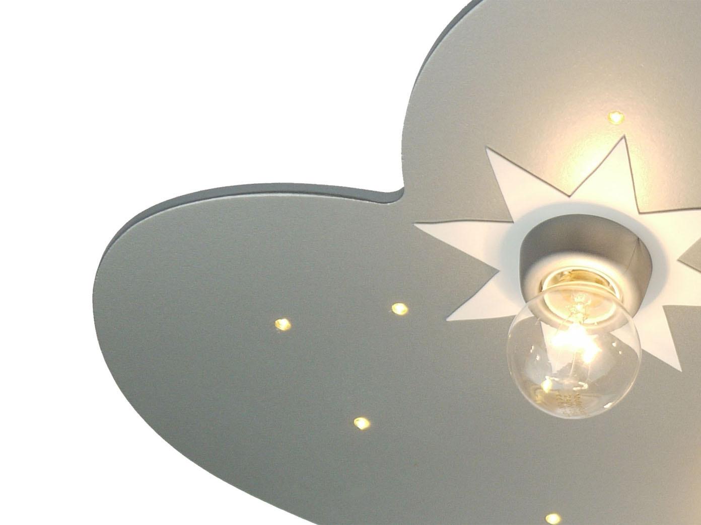 LED Lampe Kinderzimmer LED Sternenhimmel Schlummerlicht Wolkenlampe  Kinderlicht