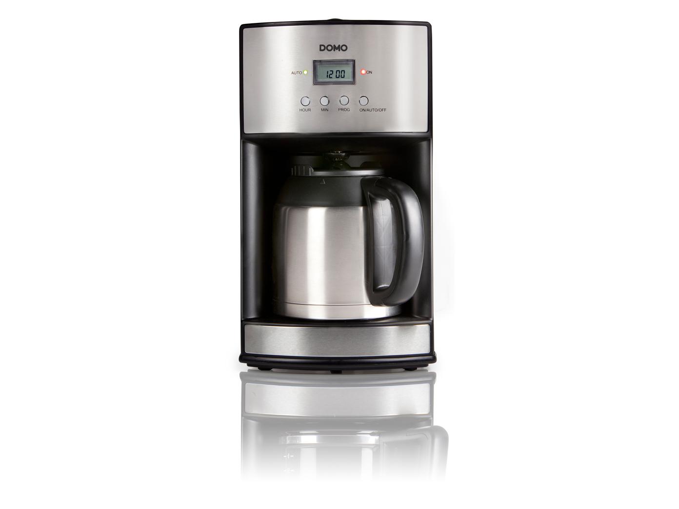 timer kaffeemaschine kaffeeautomat 24 std timer thermoskanne 1 2 liter kaufen bei setpoint. Black Bedroom Furniture Sets. Home Design Ideas