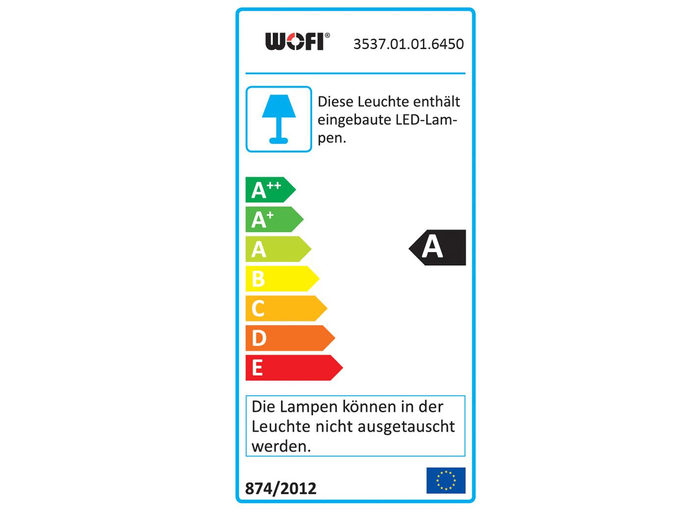 2er Set Designleuchte AMMARI, Stehleuchte in in in Chrom & Acryl, Standlampen Leuchten cc6651