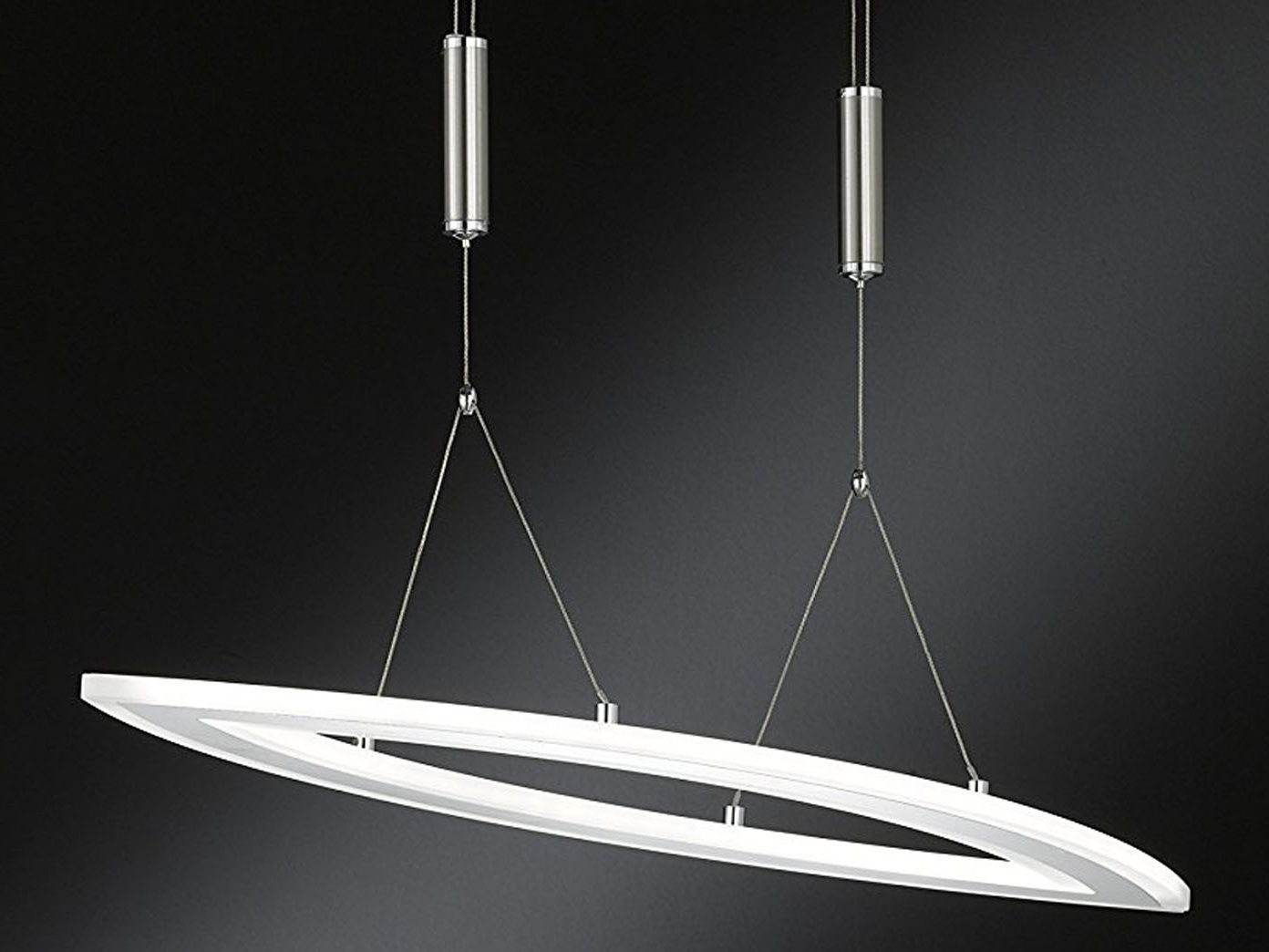 wofi led pendelleuchte nevil h henverstellbar dimmbar. Black Bedroom Furniture Sets. Home Design Ideas
