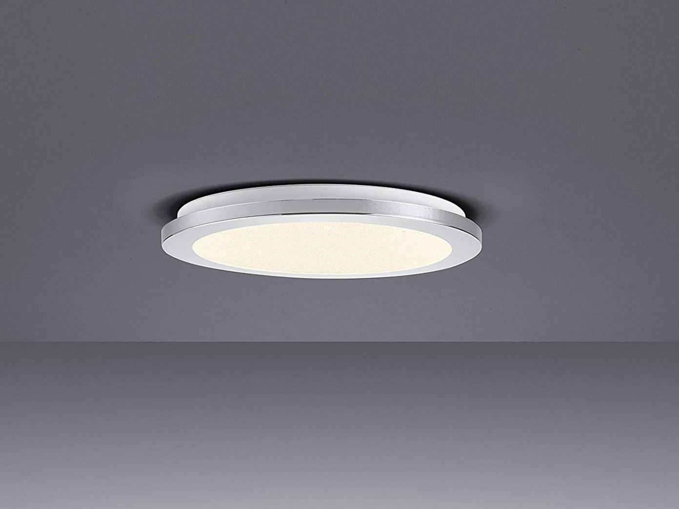 Ausgefallene runde LED Badezimmerleuchte IP20 in chromfarben mit Switch  Dimmer   yatego.com