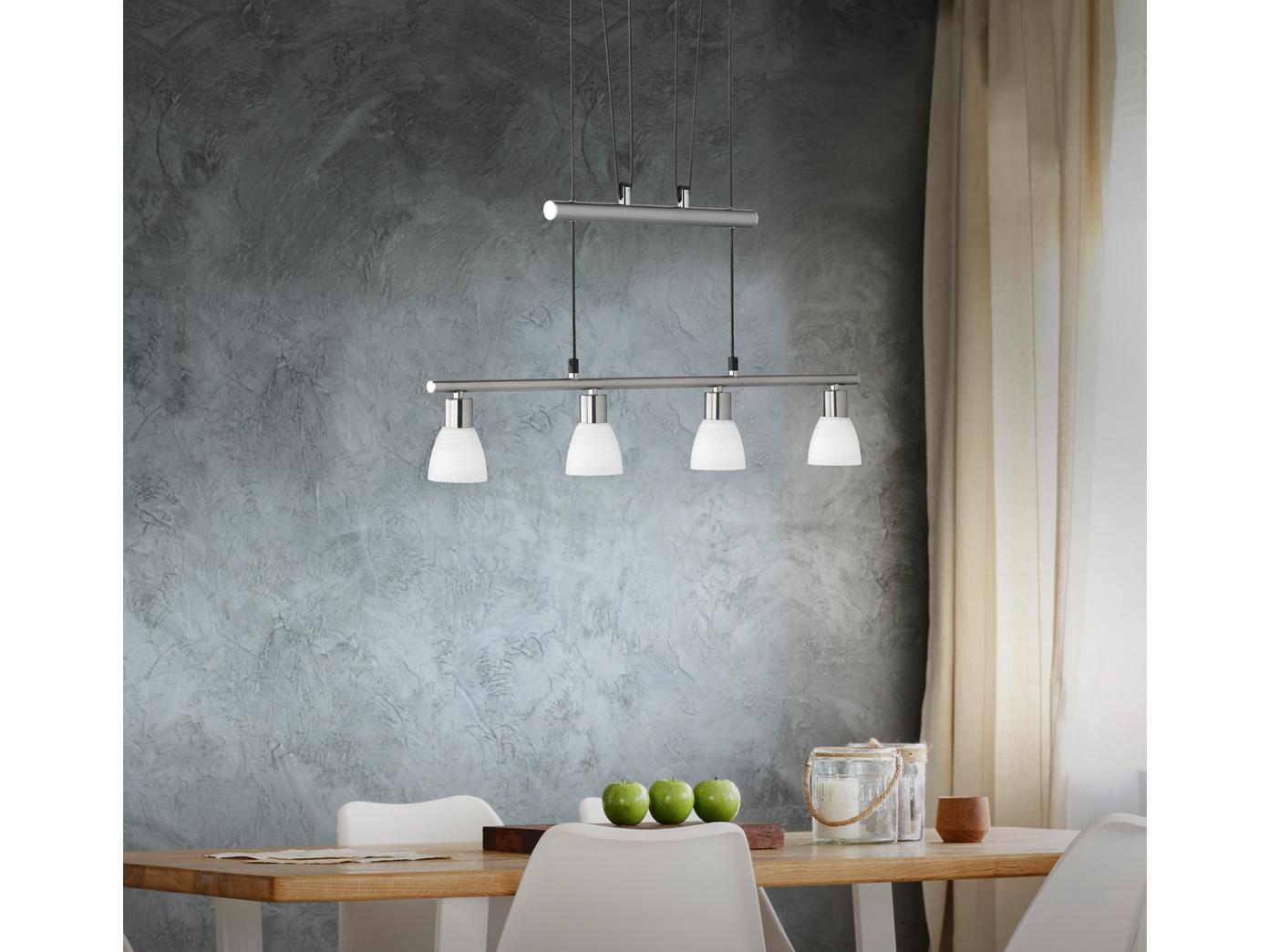 Trio Carico höhenverstellbar Pendelleuchte LED Hängeleuchte