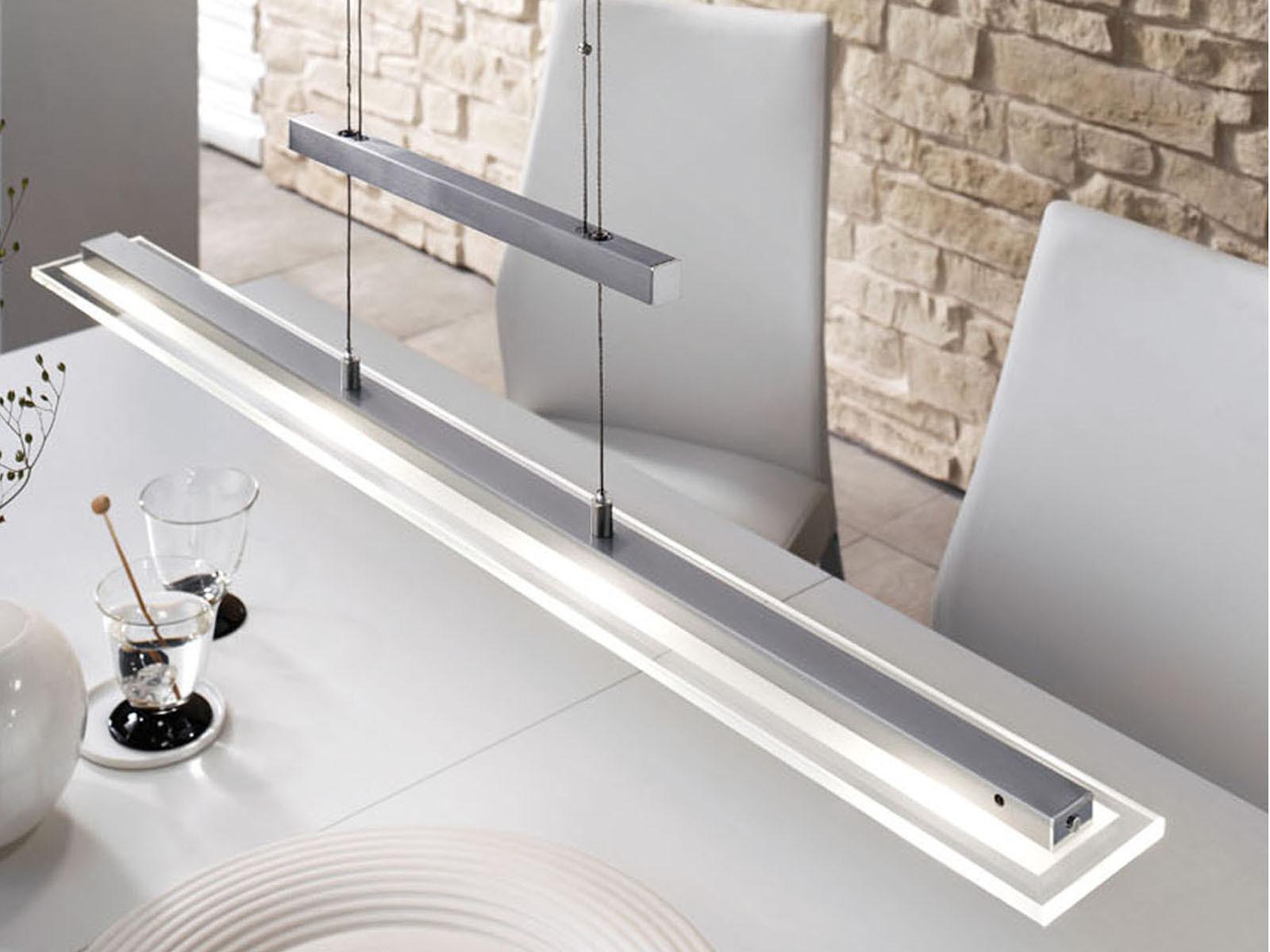 led pendelleuchte dimmbar und h henverstellbar mit. Black Bedroom Furniture Sets. Home Design Ideas