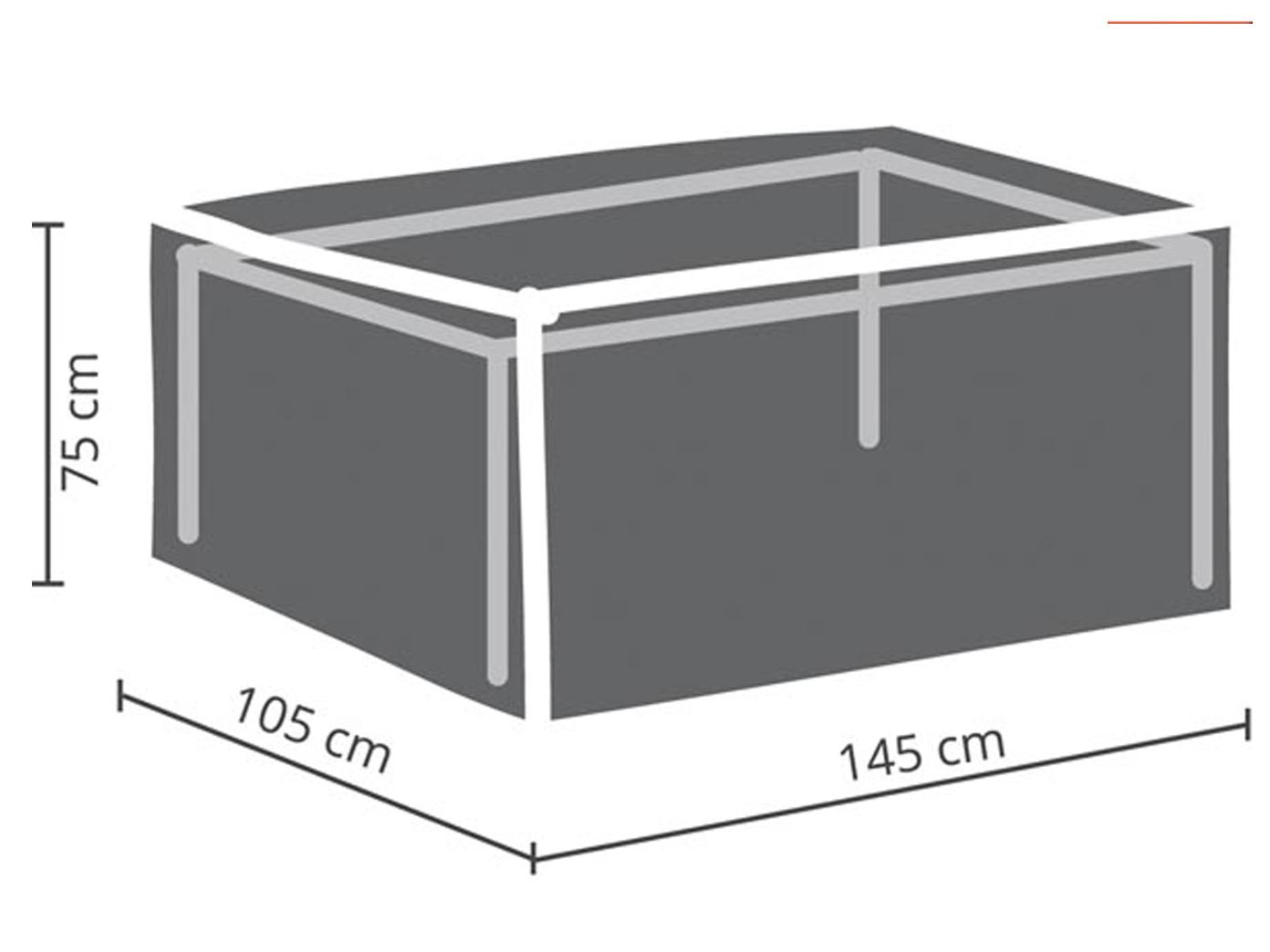 Gartenmobel Schutzhulle Abdeckung Fur Gartentisch Max 140cm