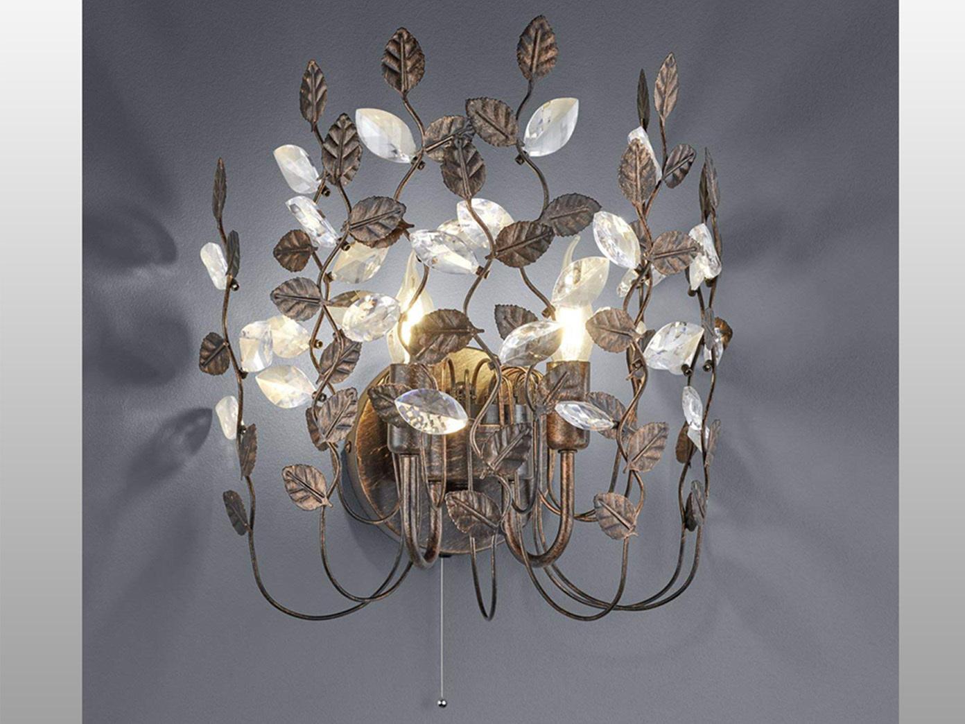 Florentiner Design Wandleuchte ausgefallene stylishe Wohnzimmer Lampen  Flurlampe - yatego.com