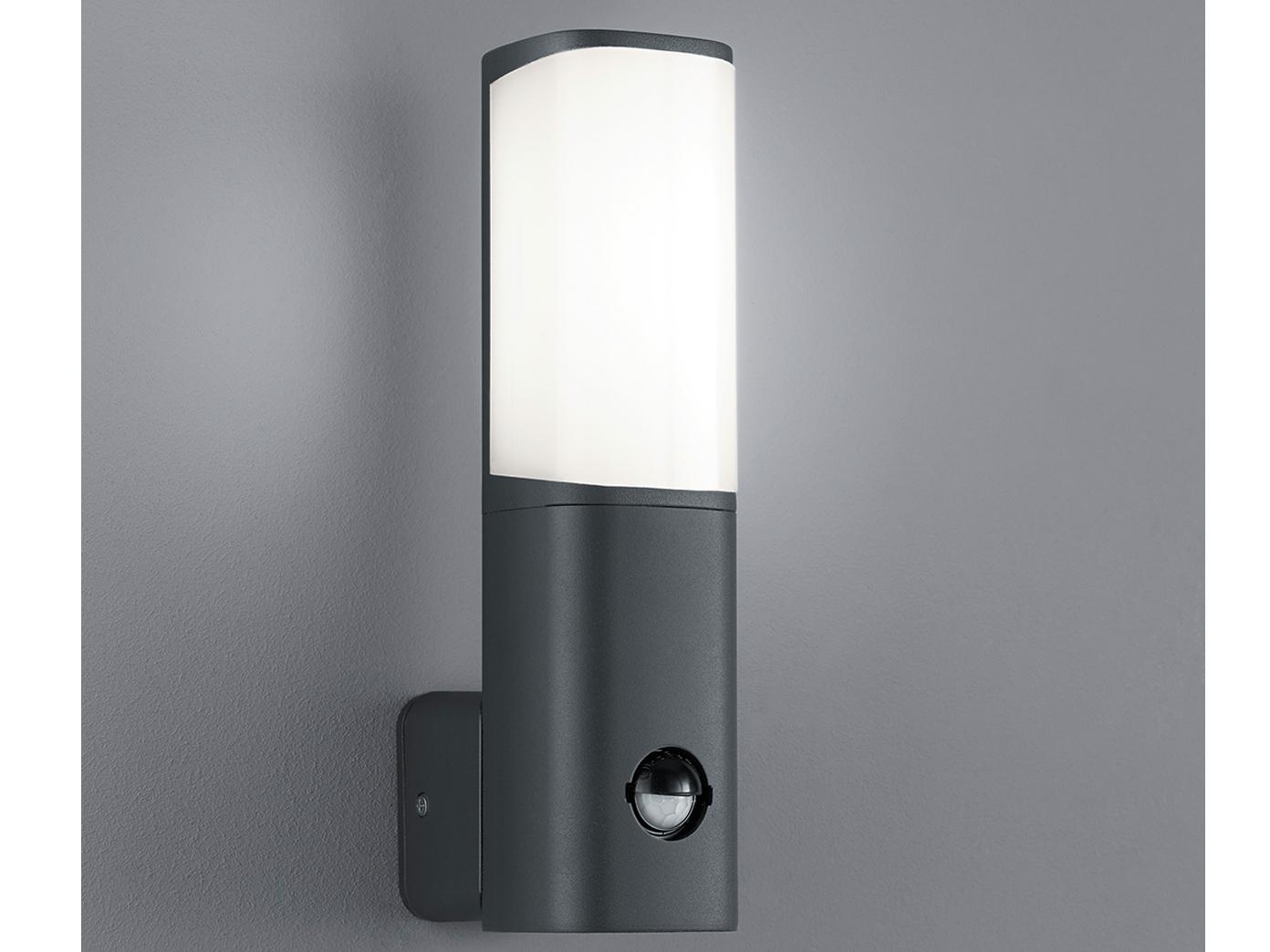 Relativ LED Außenleuchte mit Bewegungsmelder, LED Leuchte Outdoor QE81